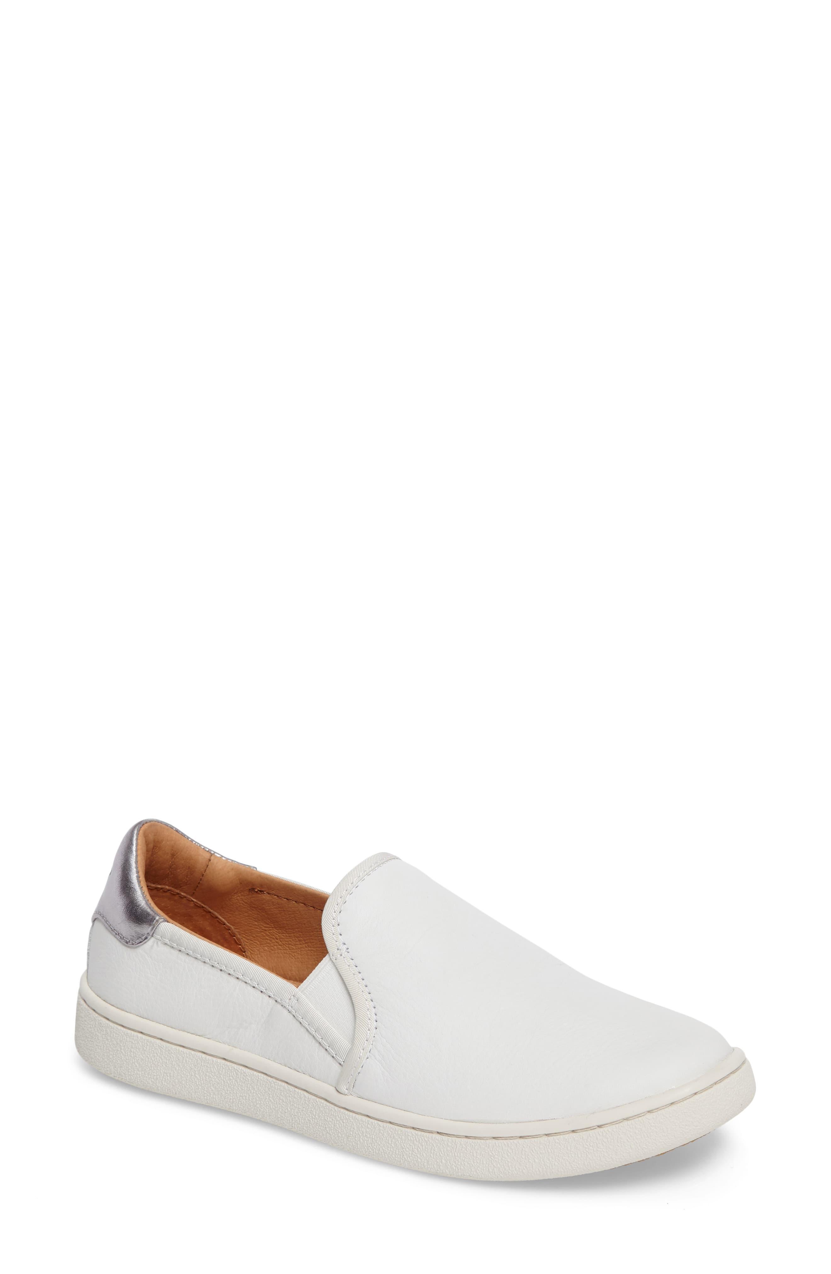 9f6e39fbfae Ugg White Ugg Cas Slip-on Sneaker