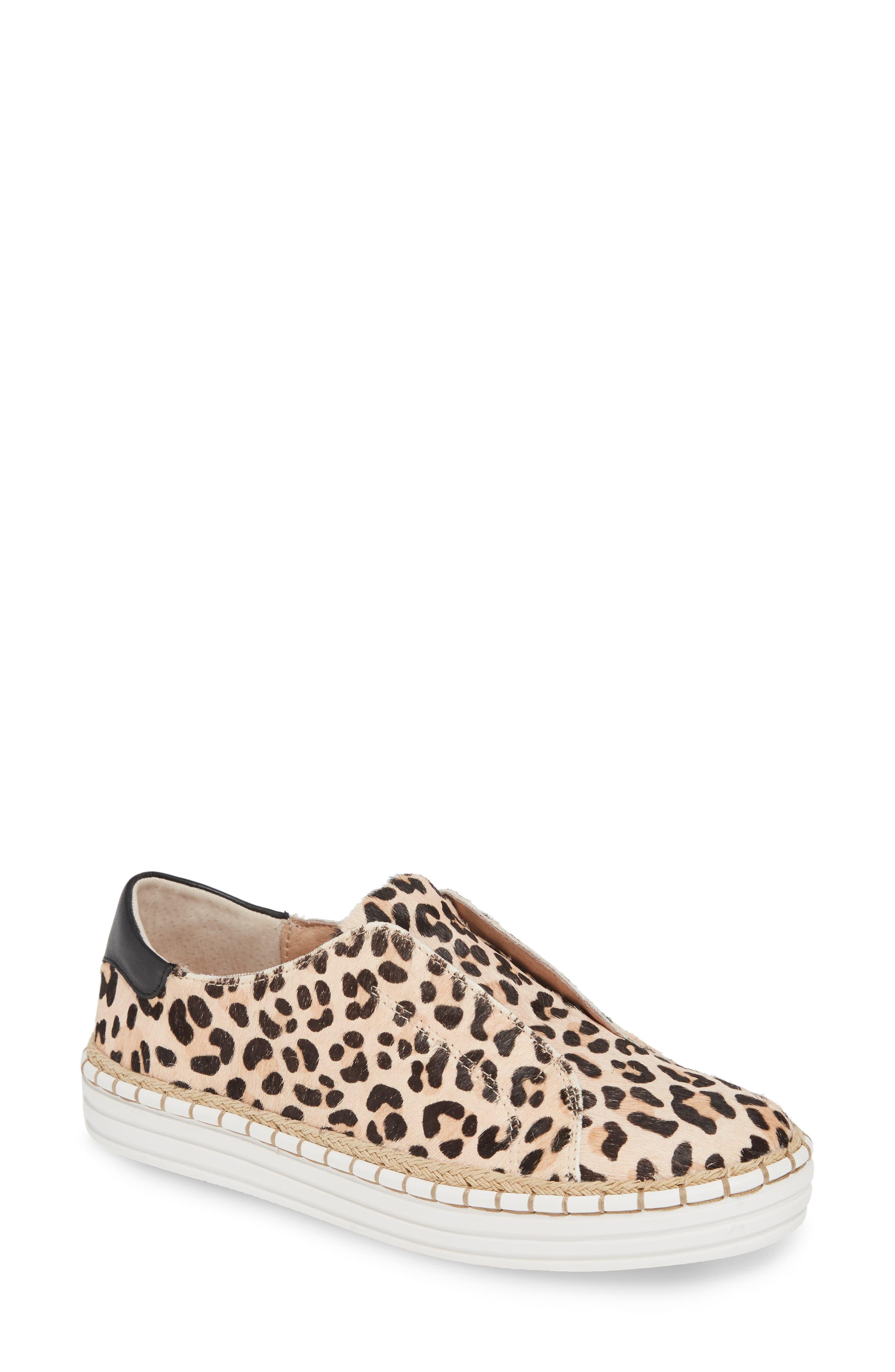 J/Slides Leather Karla Sneaker Leopard