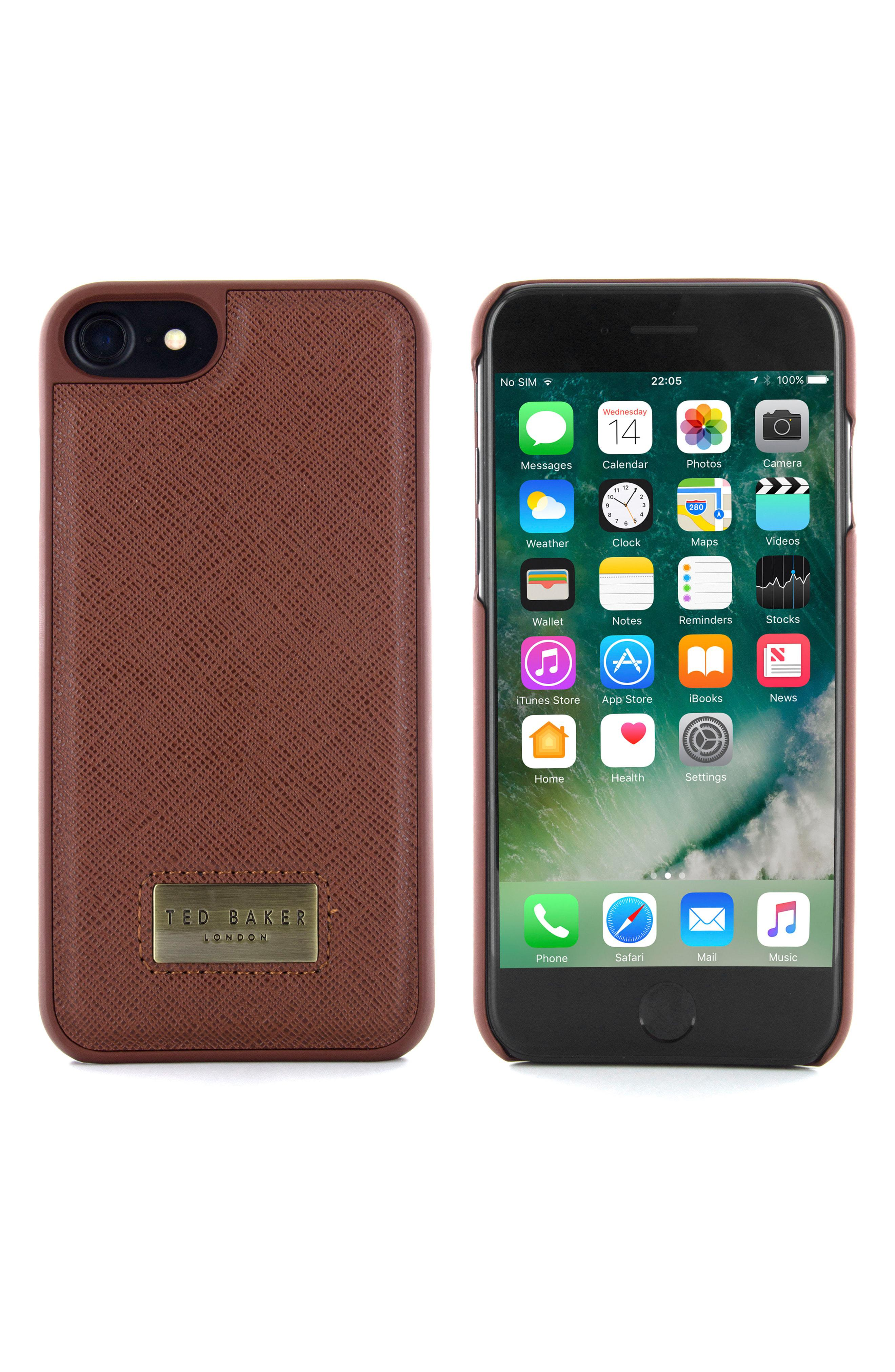 989260a6fd4654 Lyst - Ted Baker Haliday Iphone 6 6s 7 8   6 6s 7 8 Plus Case - in Green