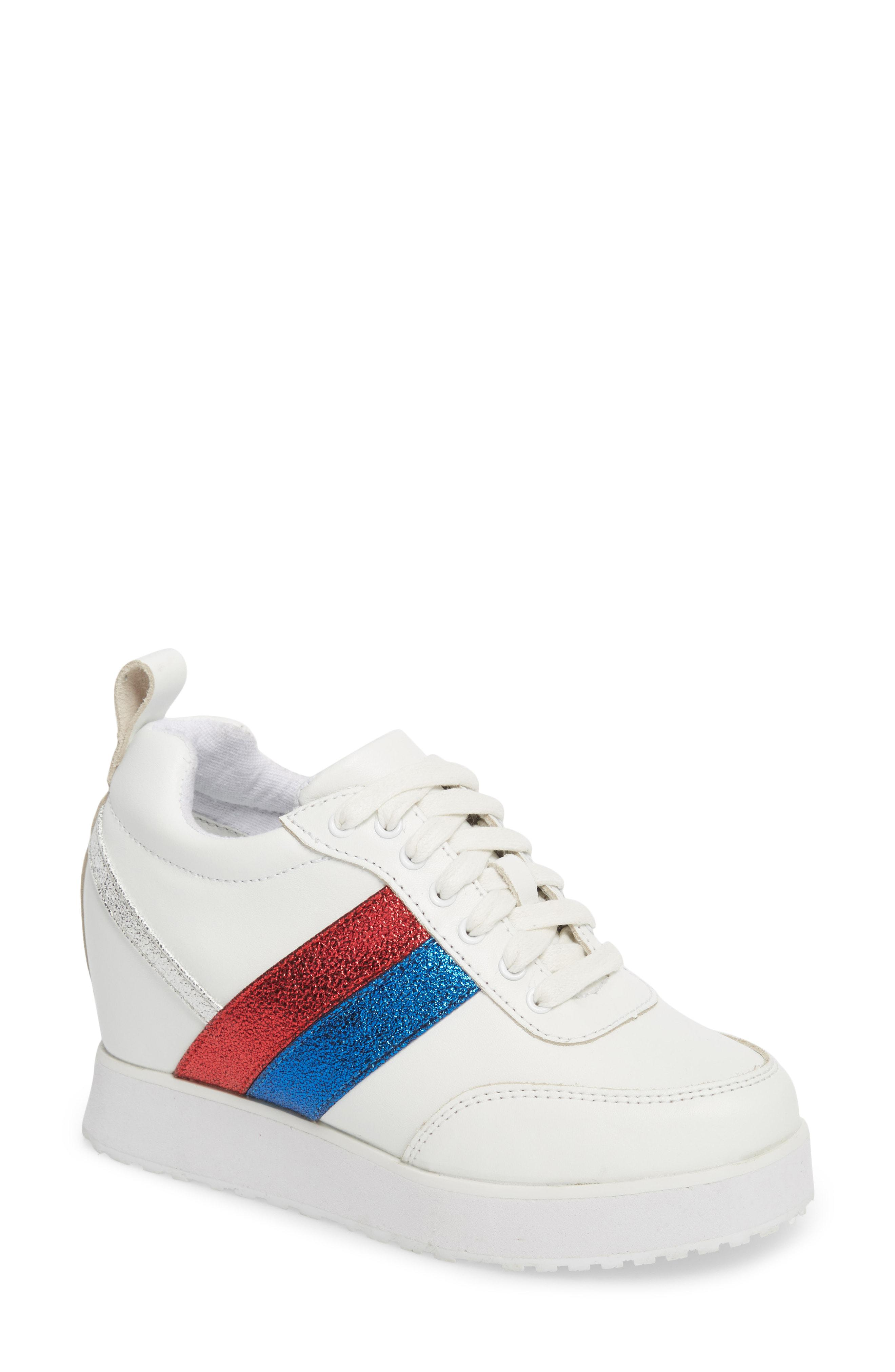 534f7cb57c55 Lyst - Very Volatile Sarita Hidden Wedge Sneaker in White