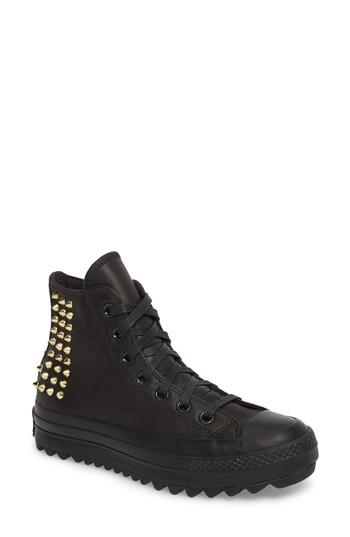 c05329cb8199 Converse Chuck Taylor All Star Lift Ripple Studded High .