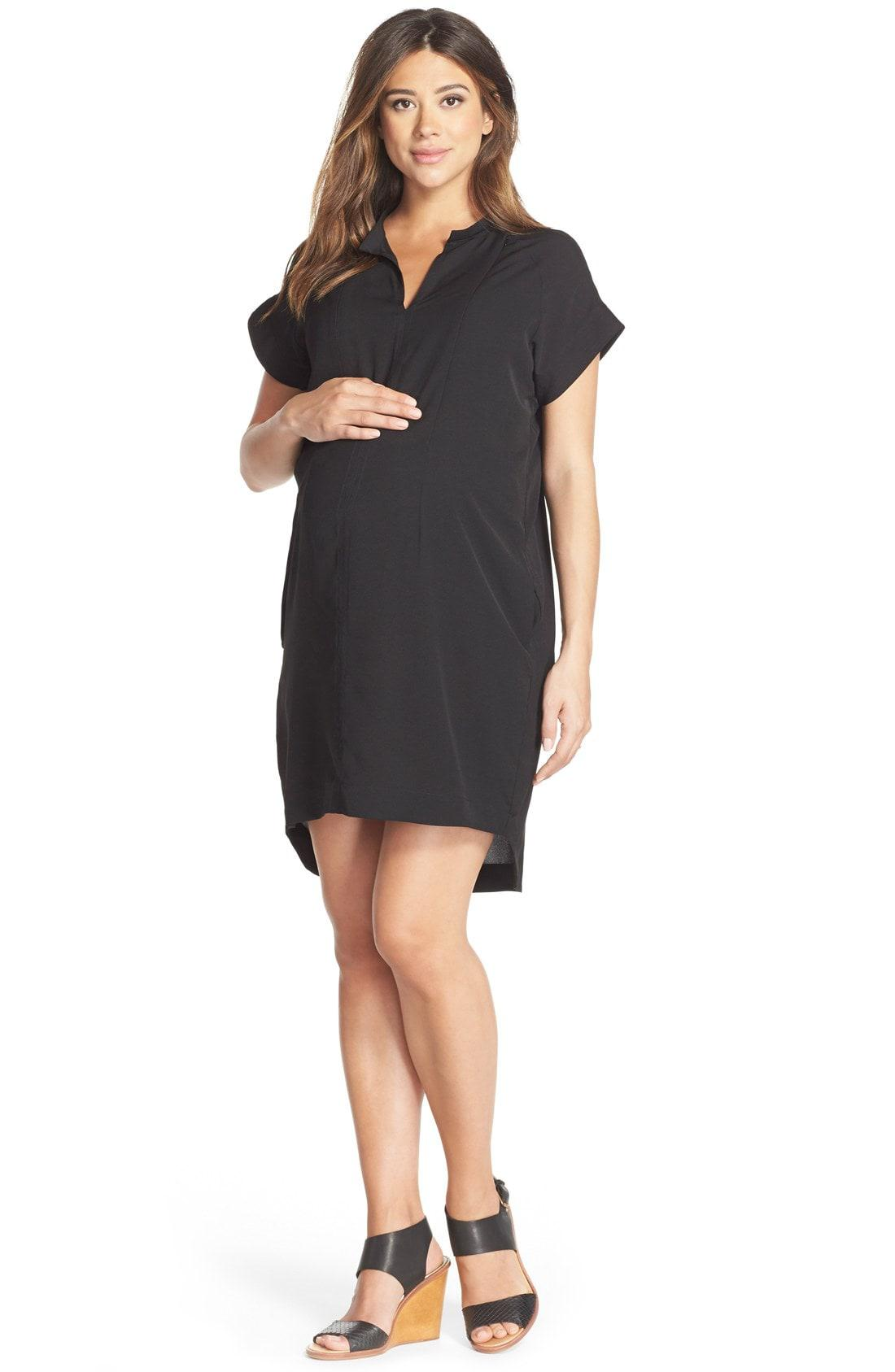 2162ec154c55f Lyst - Loyal Hana Cybelle Maternity Dress in Black