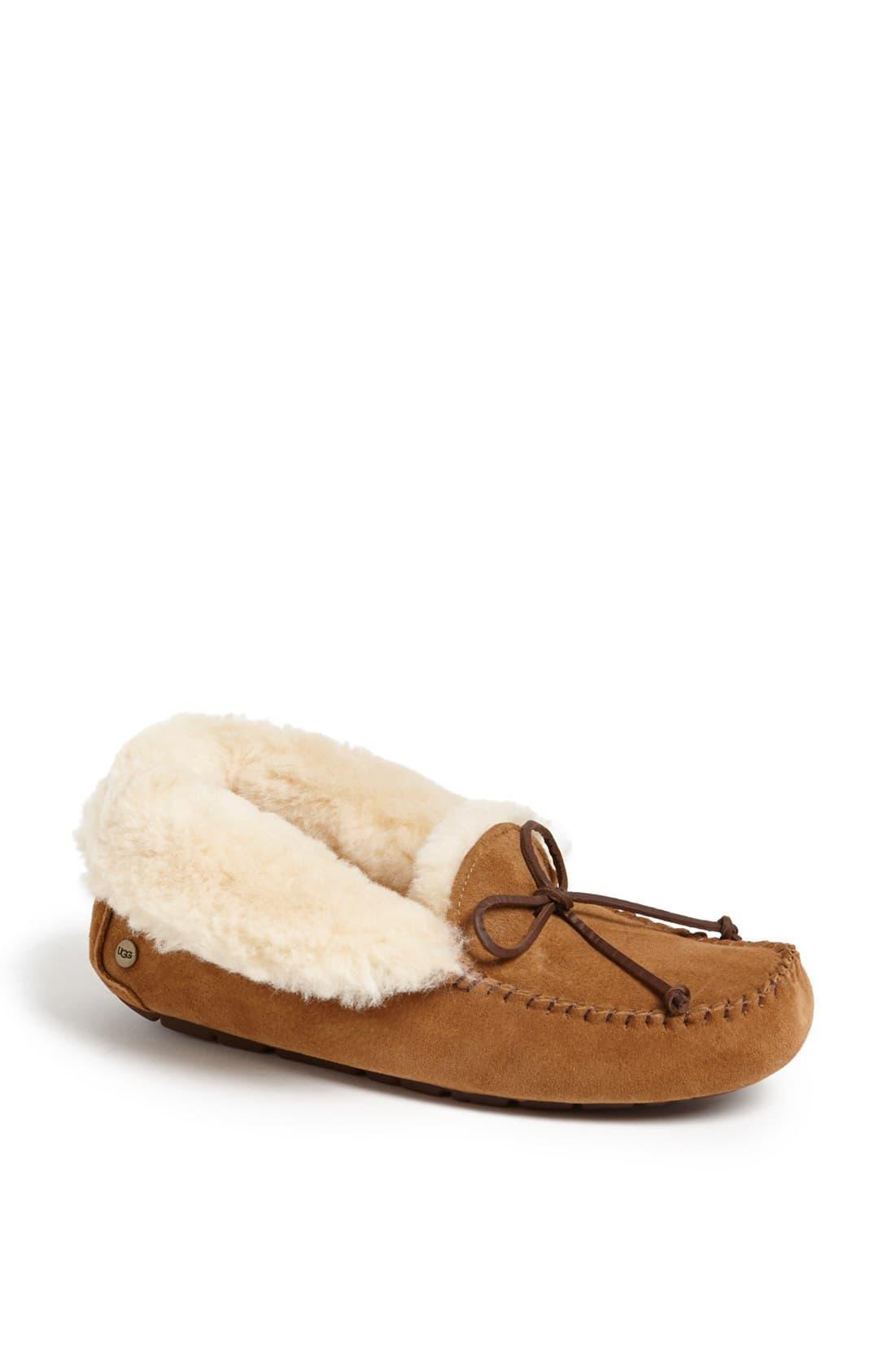2059f6b64ad Women's Brown Uggpure Alena Suede Slipper Boots