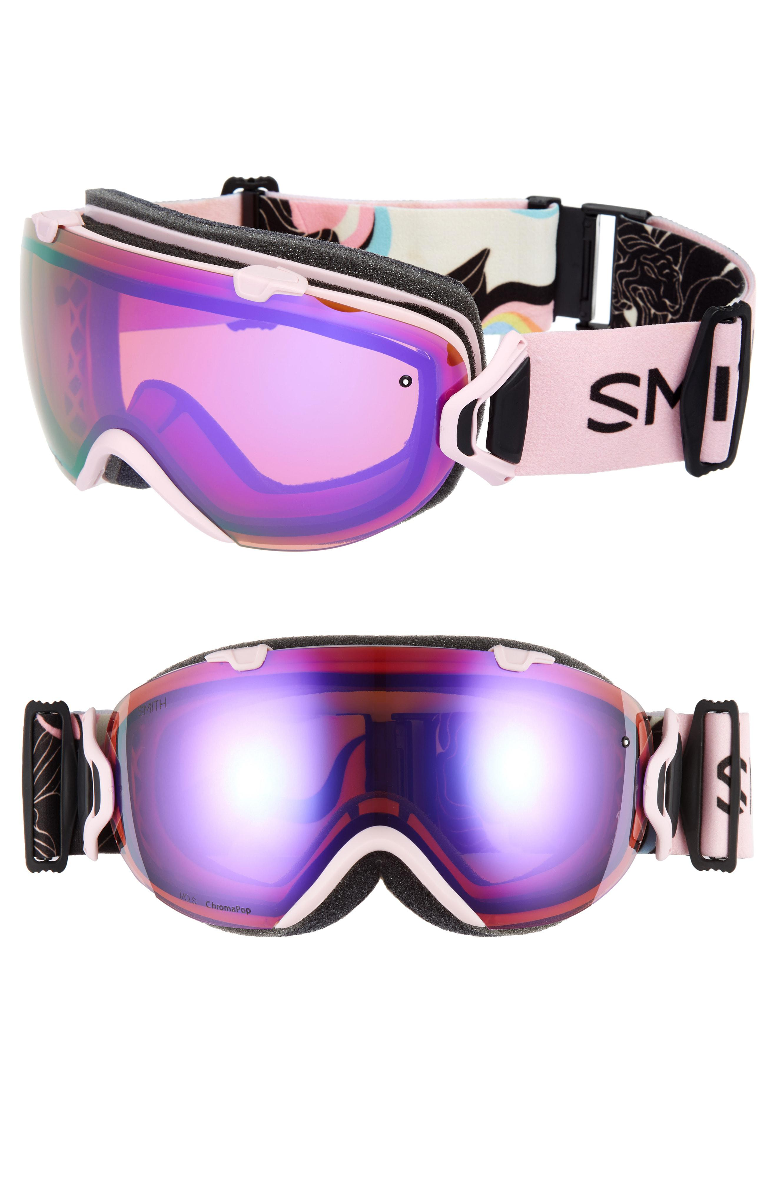 40a69c3314 Smith I os Special Fit 190mm Chromapop Snow Goggles - in Purple - Lyst