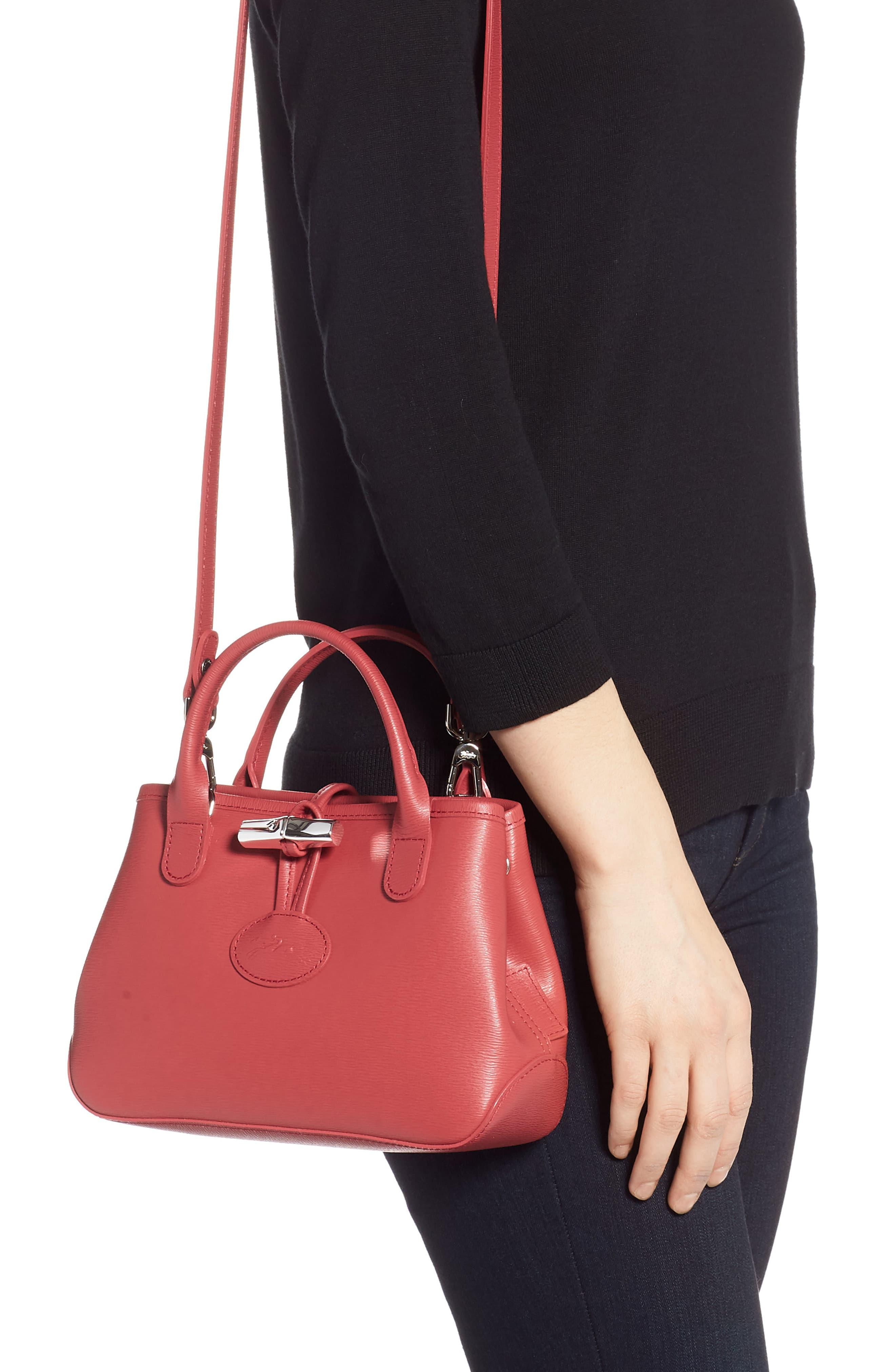 Roseau Leather Crossbody Bag