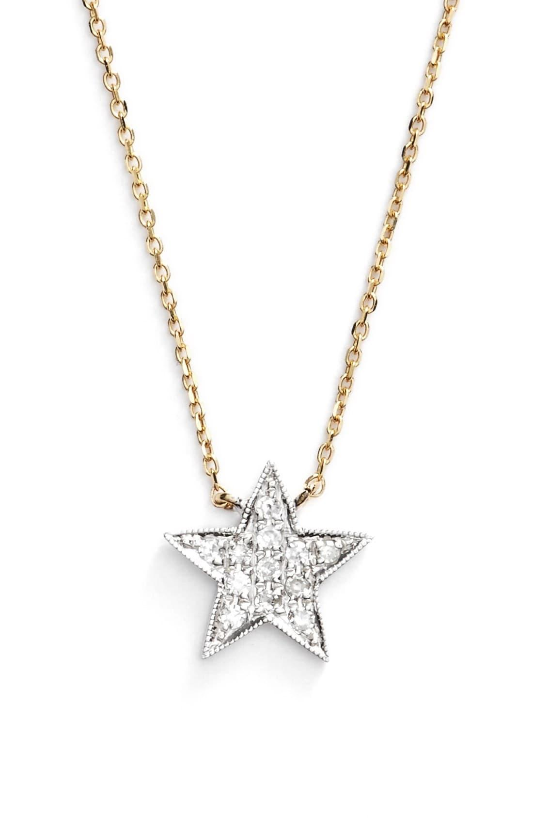 Dana Rebecca Julianne Himiko Diamond Star Pendant