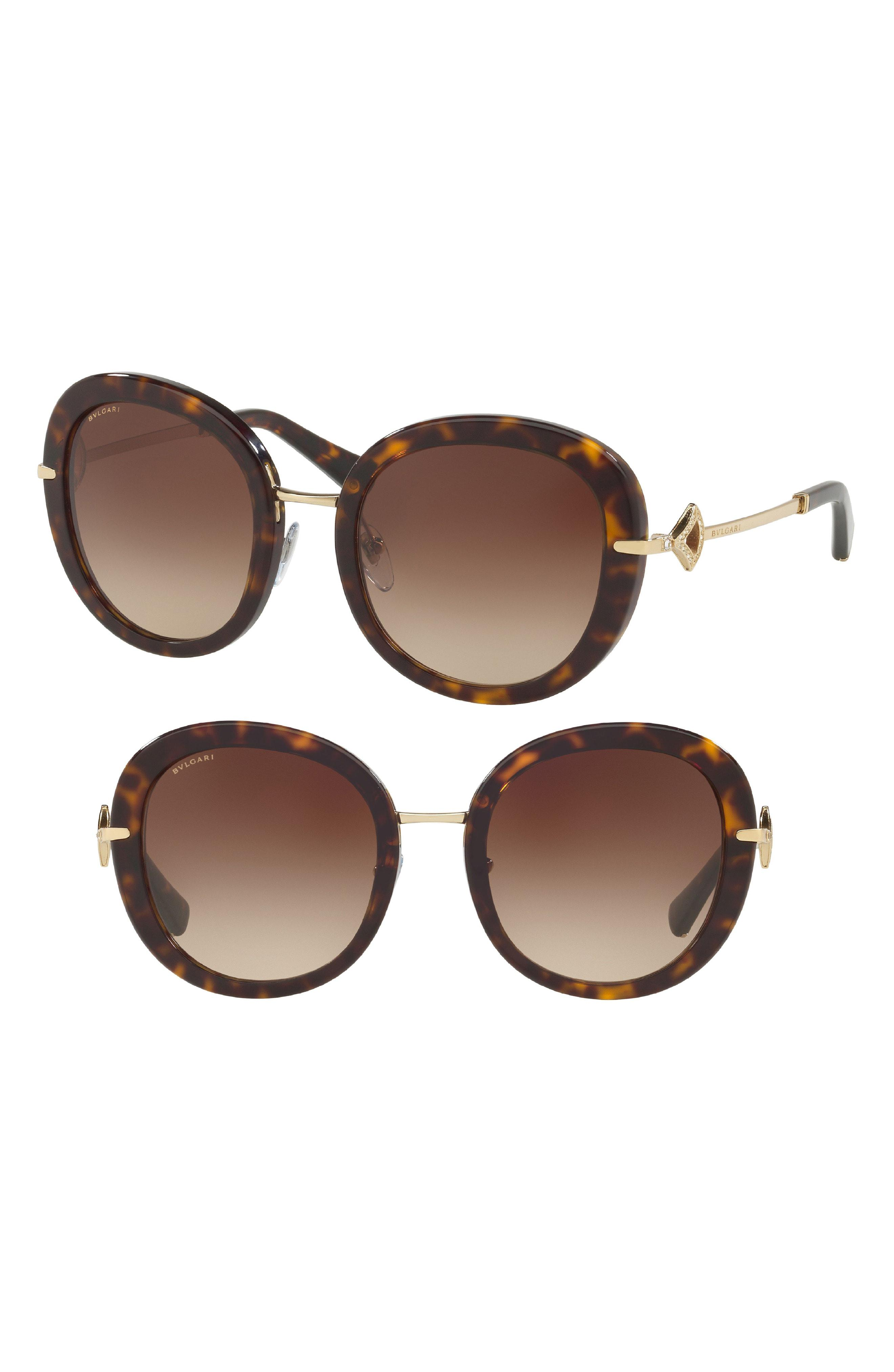 c496350e1dce8 BVLGARI - Brown 53mm Gradient Sunglasses - - Lyst. View fullscreen