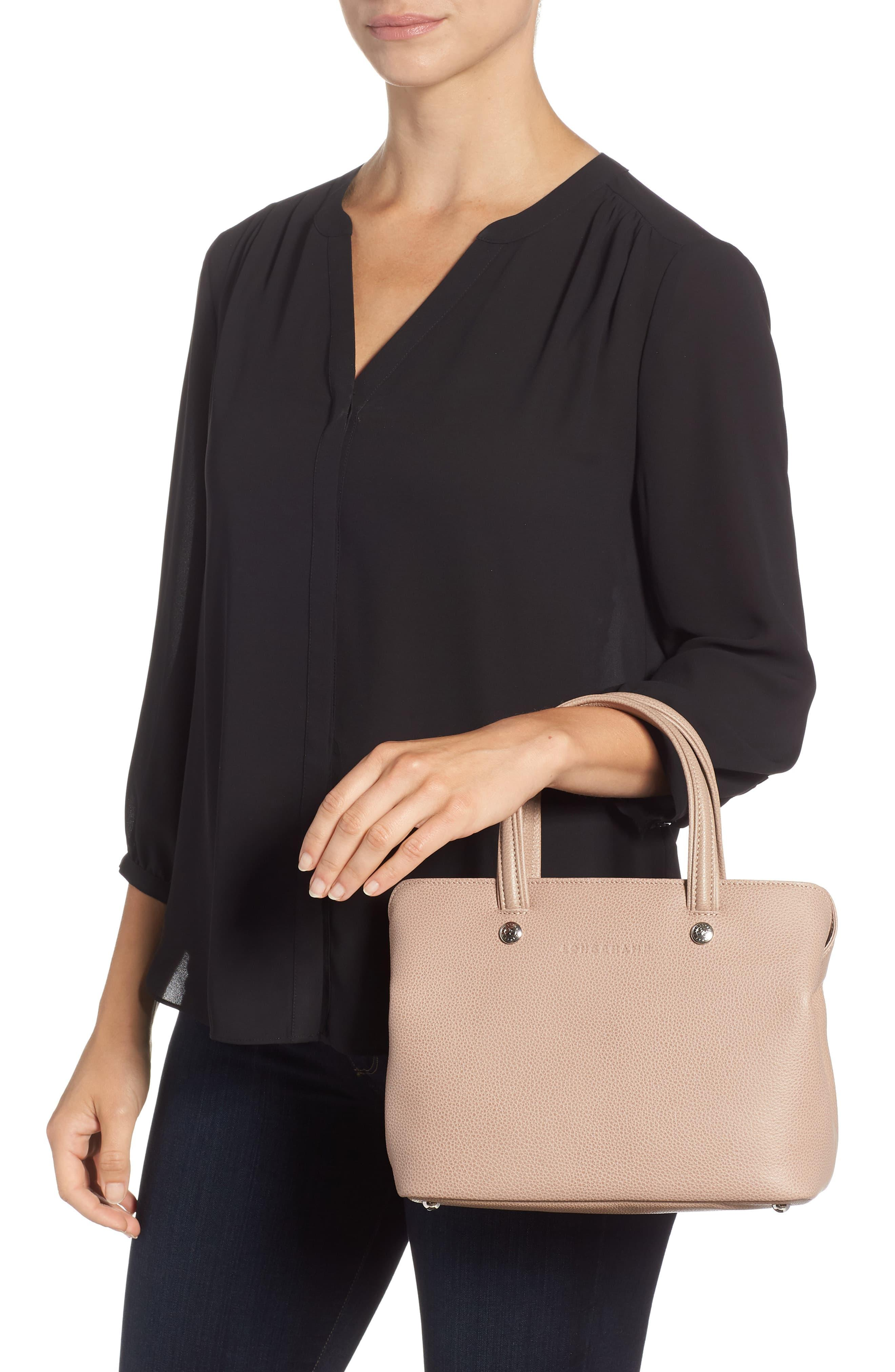 Le Foulonné Zip Around Leather Tote