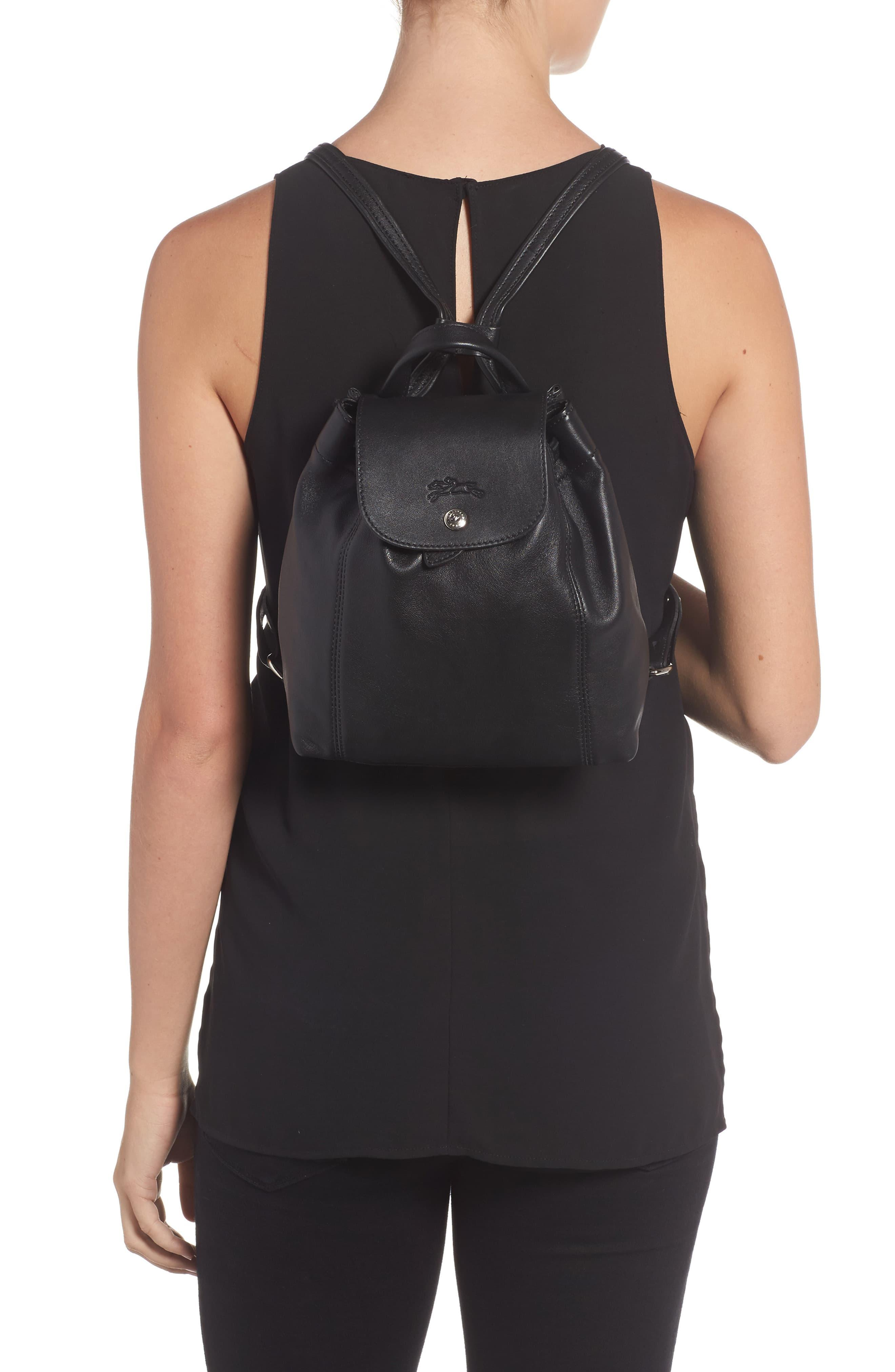 Extra Small Le Pliage Cuir Backpack