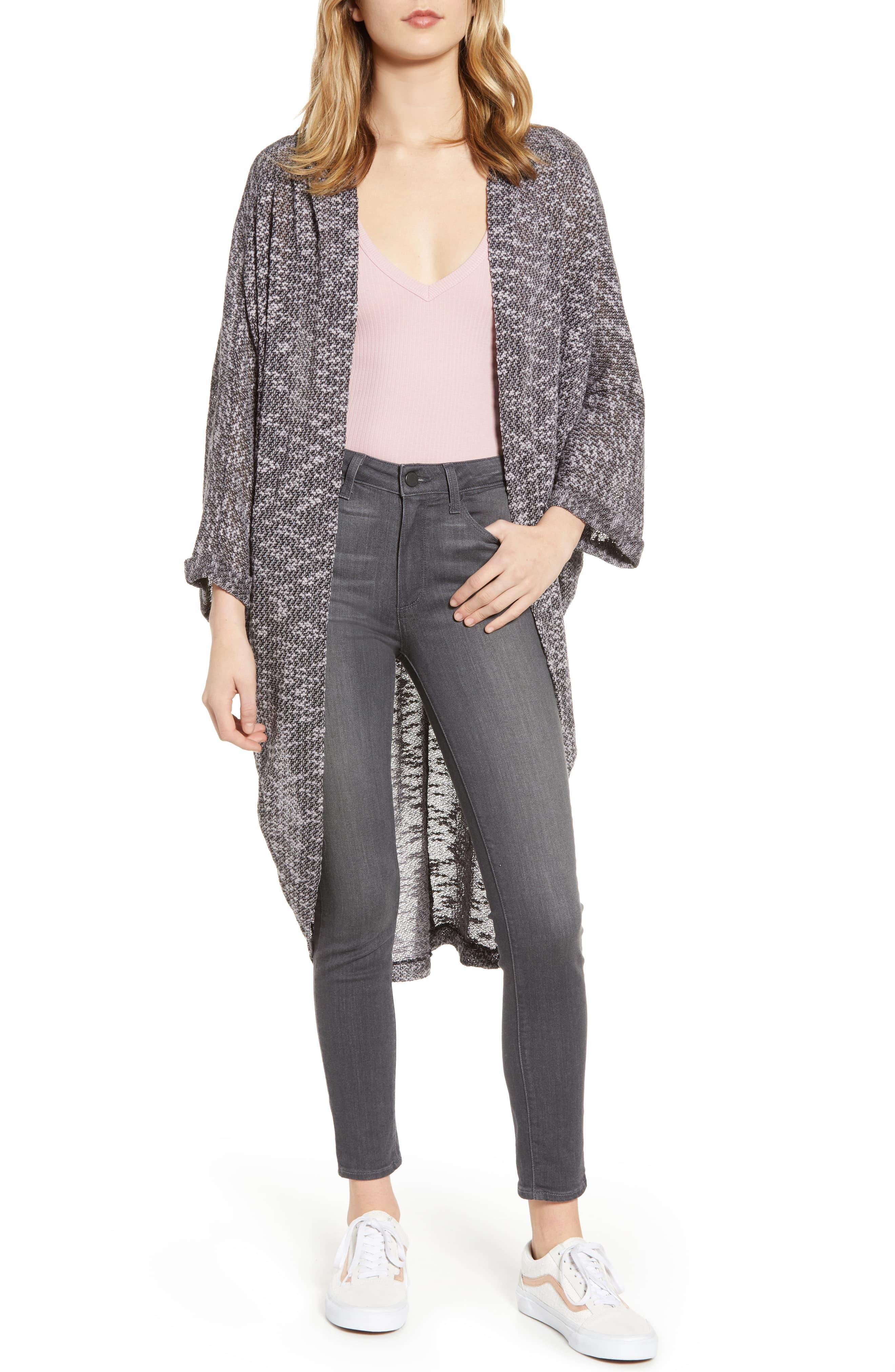 Reiss Chunky Knit Cardigan in Gray (grey) | Lyst