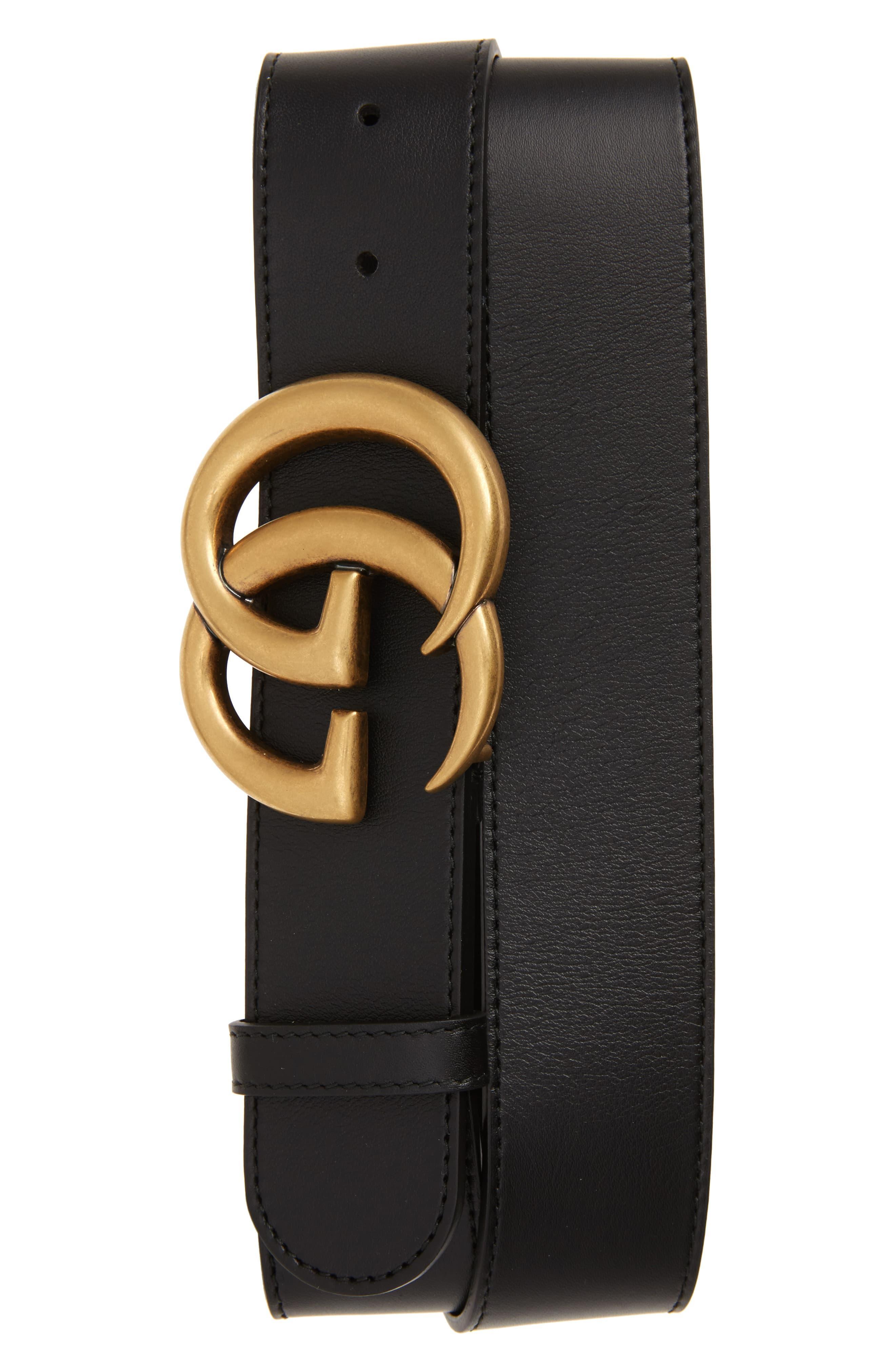scarpe di separazione d5cd3 3a4d9 Women's Black Cintura Donna Leather Belt