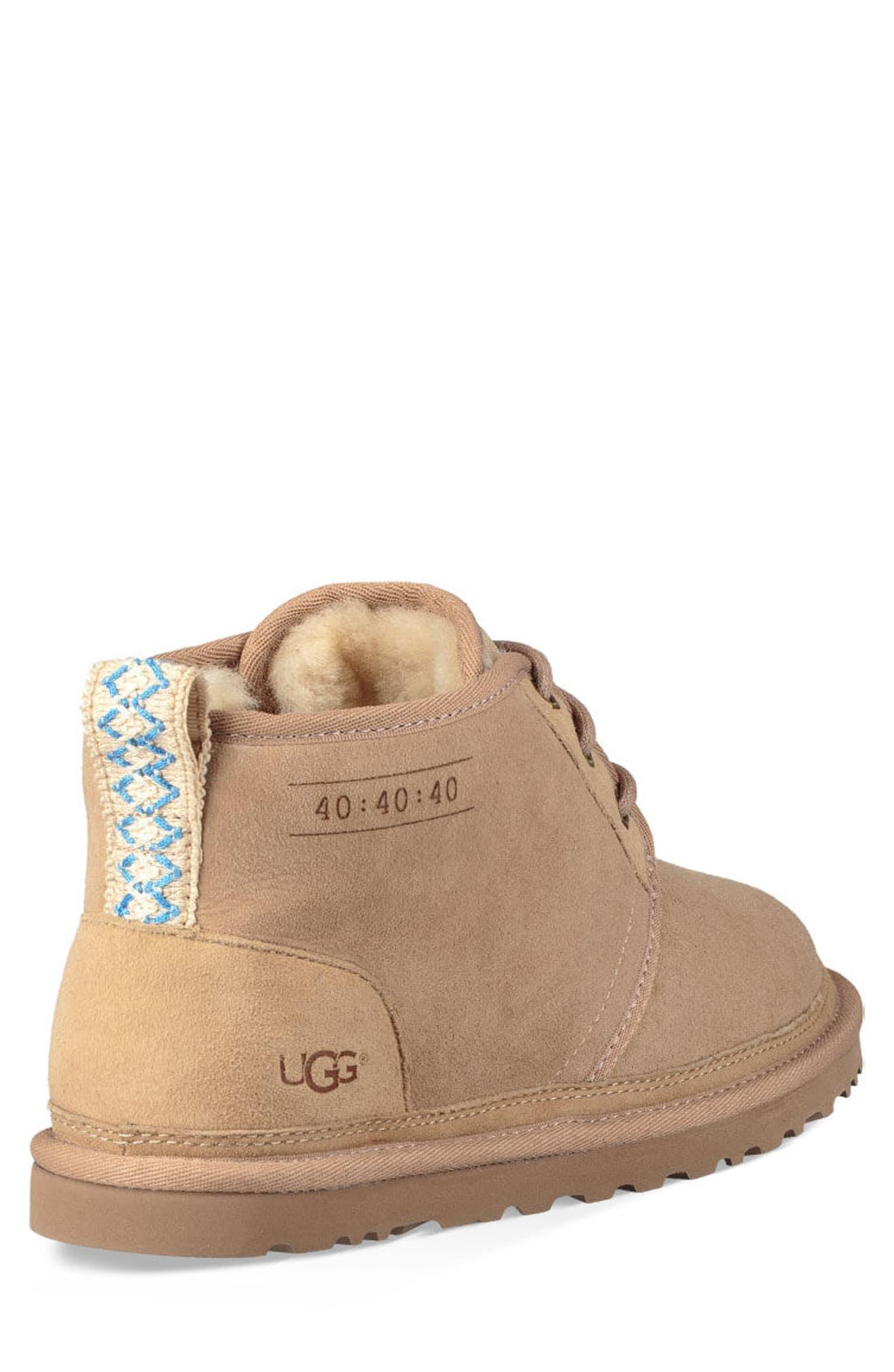 03563055271 Ugg - Natural Ugg Neumel 40:40:40 Anniversary Genuine Shearling Boot for  Men - Lyst