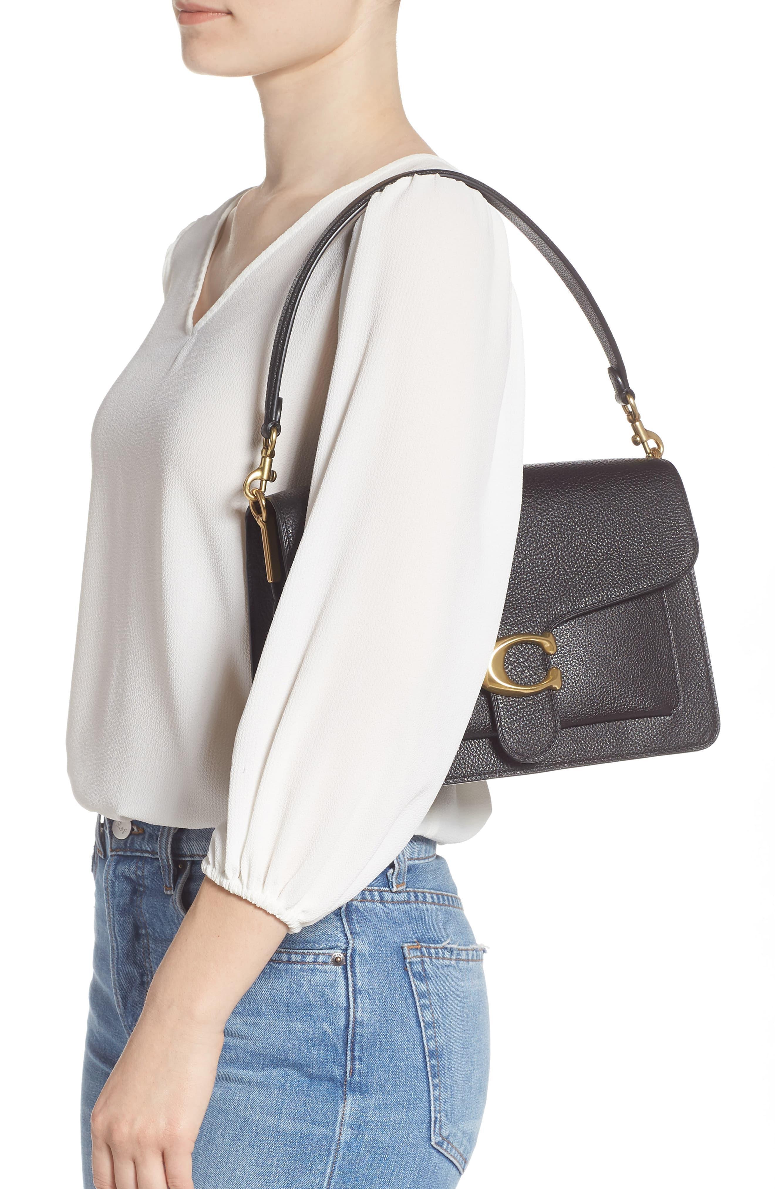 a4f3dbfc118 Women's Black Tabby Leather Shoulder Bag