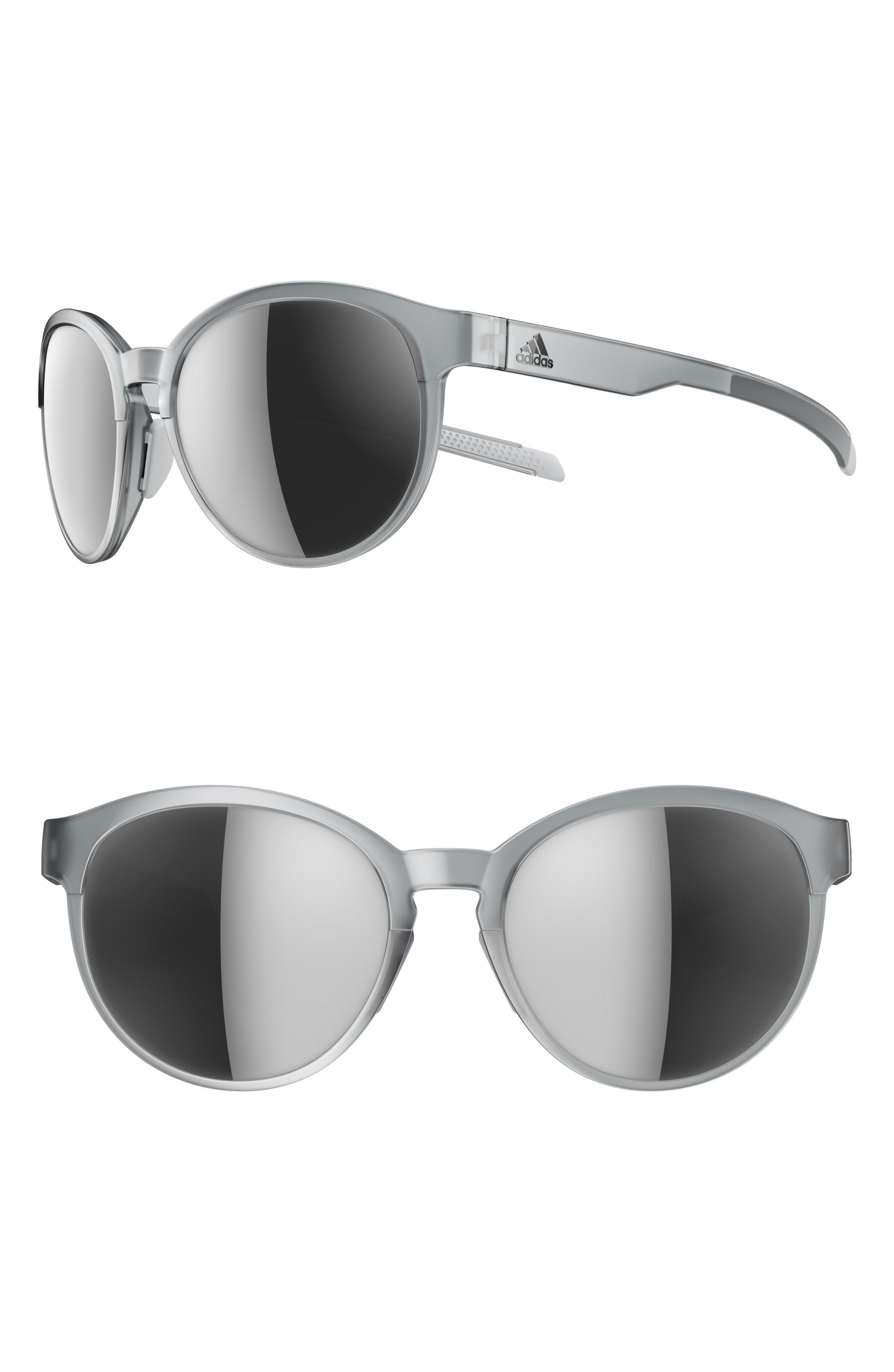 a72a35129c19 Lyst - Adidas Beyonder 55mm Mirrored Training Sunglasses in Gray