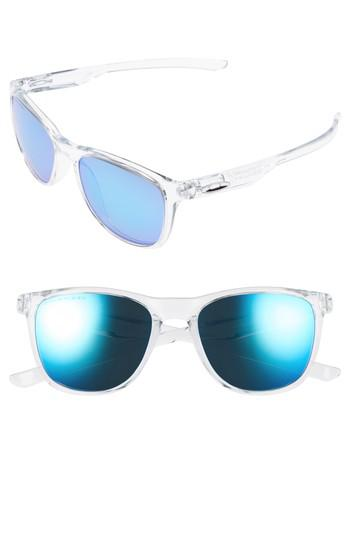 2503cd14fd Oakley Trillbe X 52mm Polarized Sunglasses - Clear  Sapphire Iridium ...