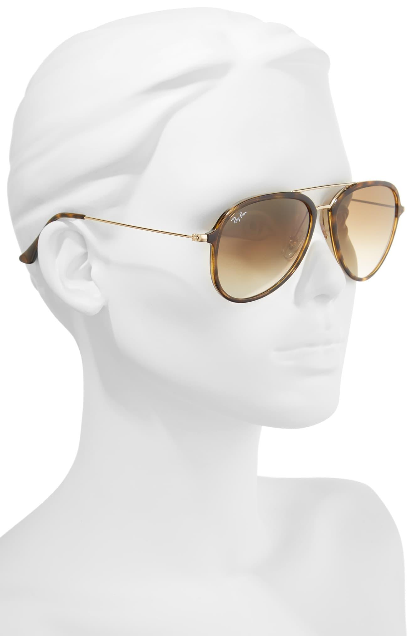 125630ecee09a Ray-Ban - Multicolor 57mm Pilot Sunglasses - Light Havana - Lyst. View  fullscreen