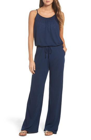 e5d119dc003ea Lyst - Becca Breezy Basica Jumpsuit in Blue