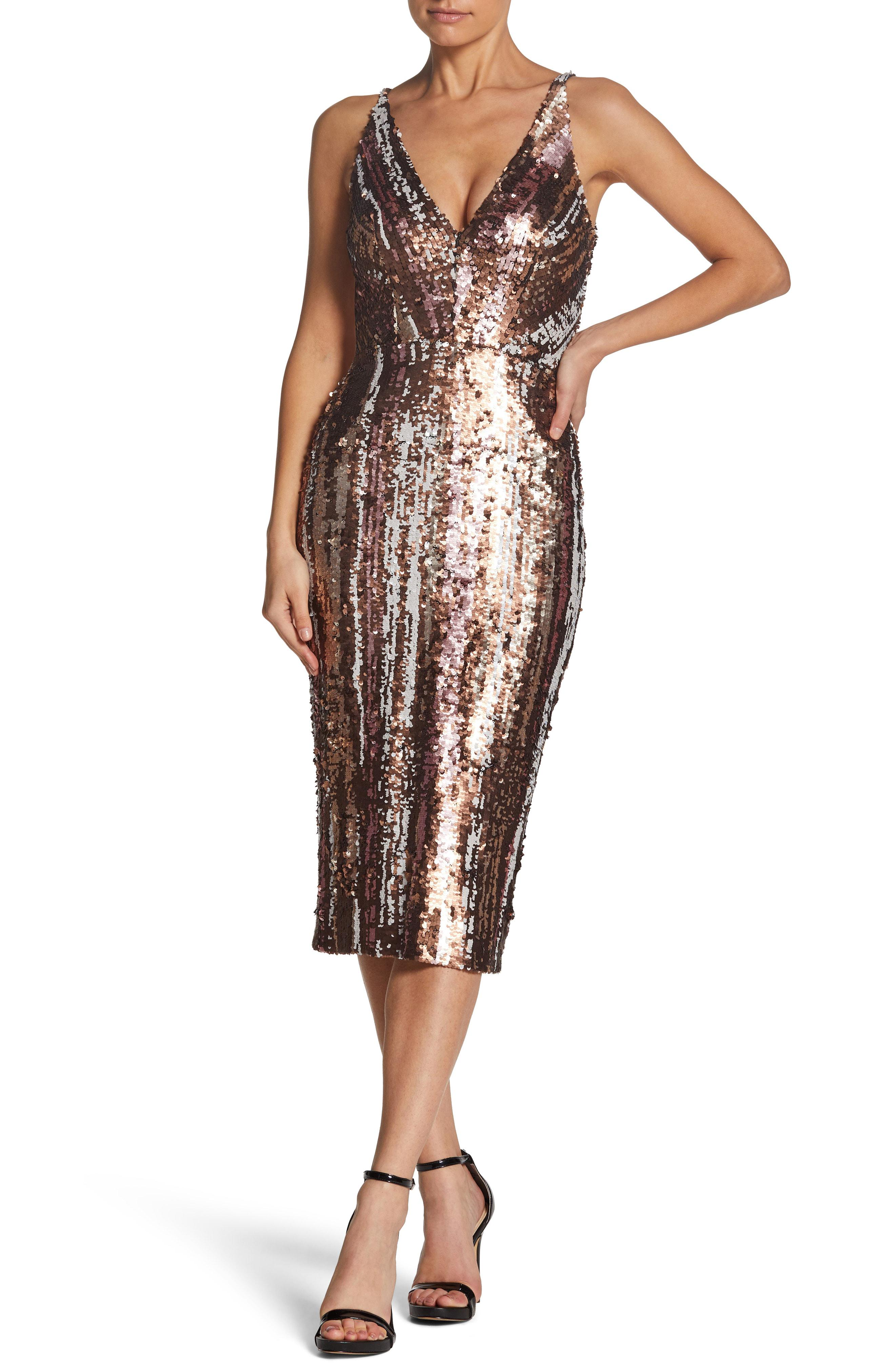 dress the population margo sequin midi dress off 20   medpharmres.com