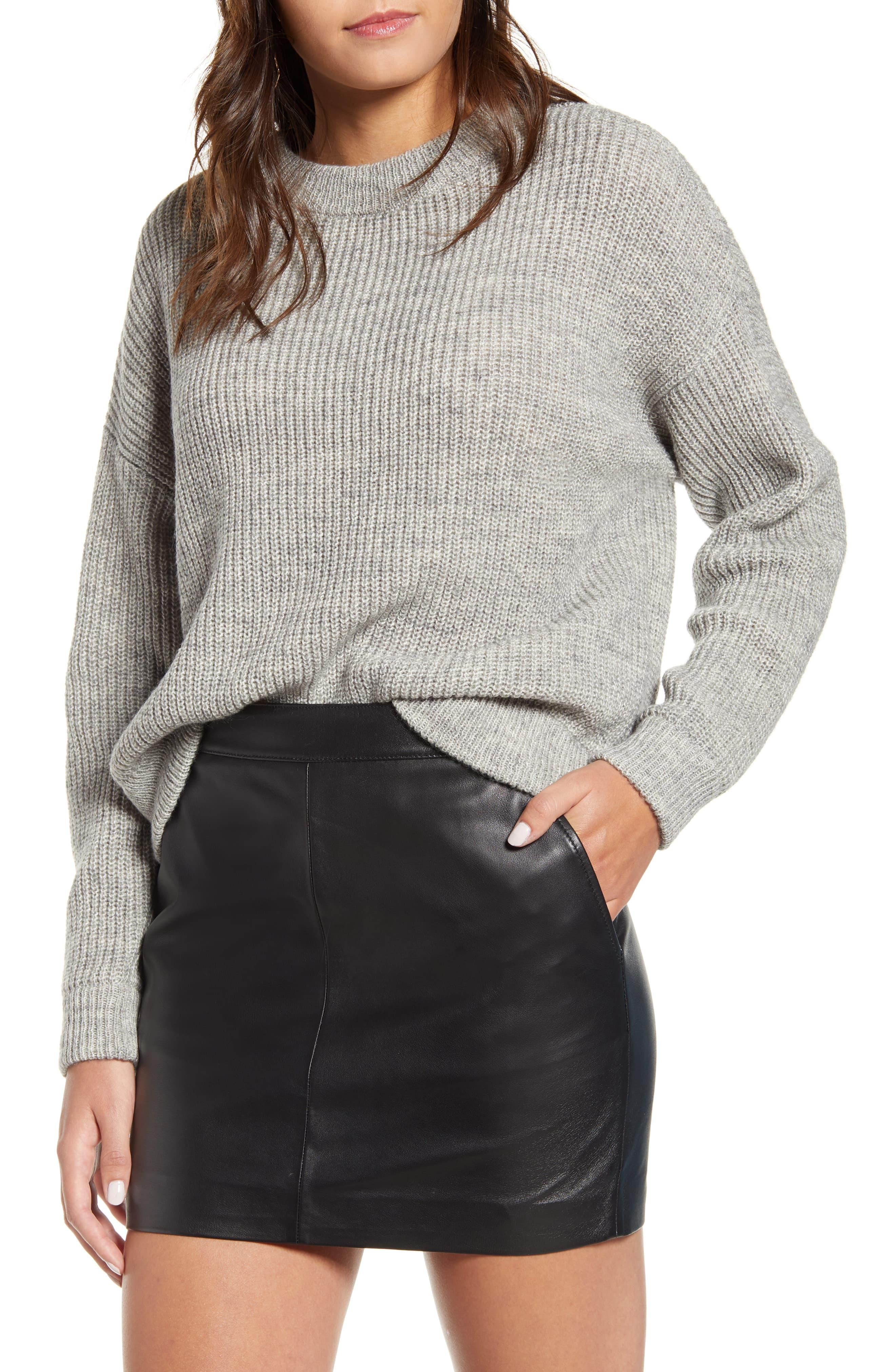 cheap for discount 70b38 ce898 Women's Gray Imagine Knit Pullover