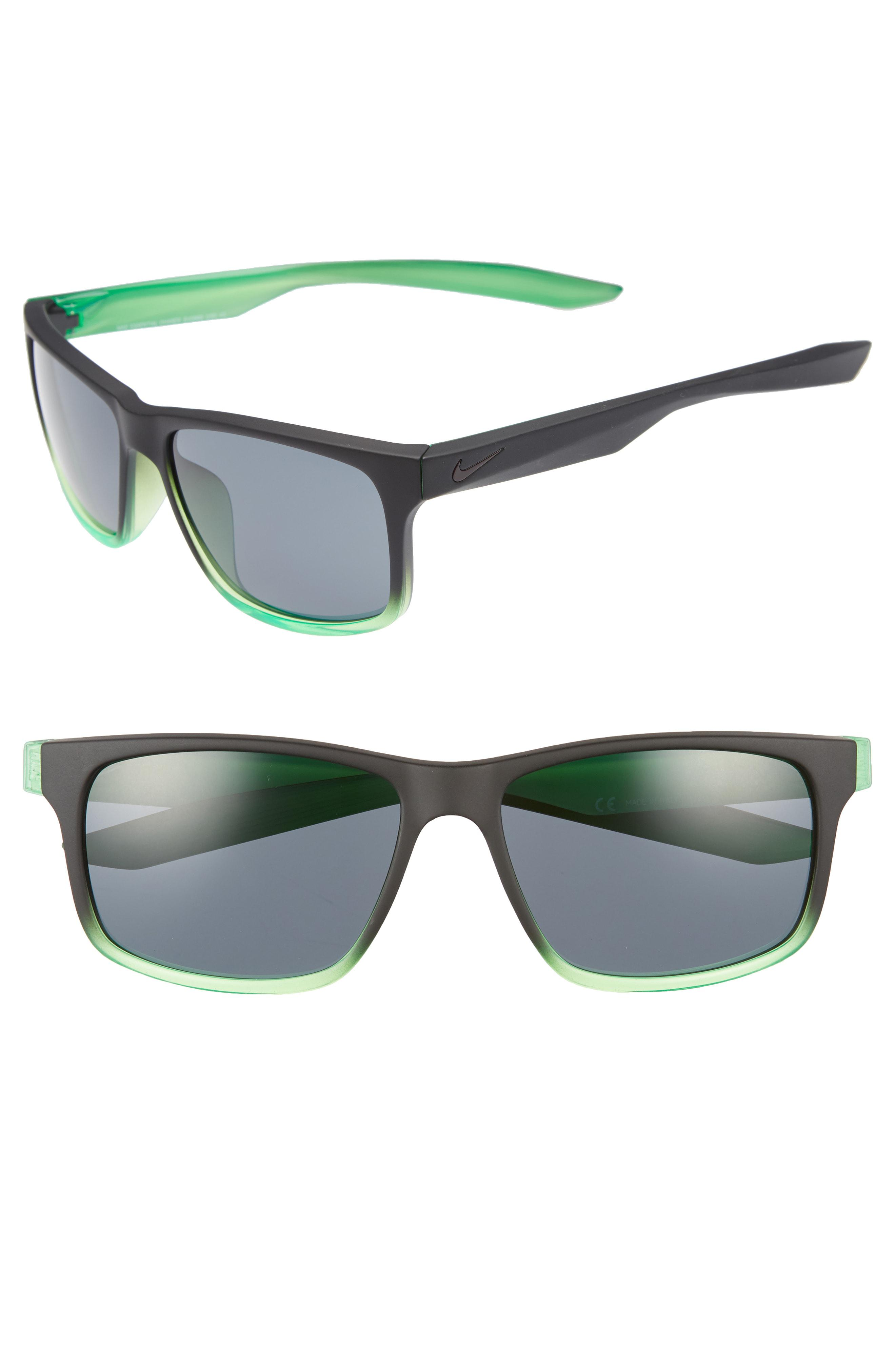c4e72a759ed Lyst - Nike Essential Chaser 56mm Sunglasses in Gray for Men