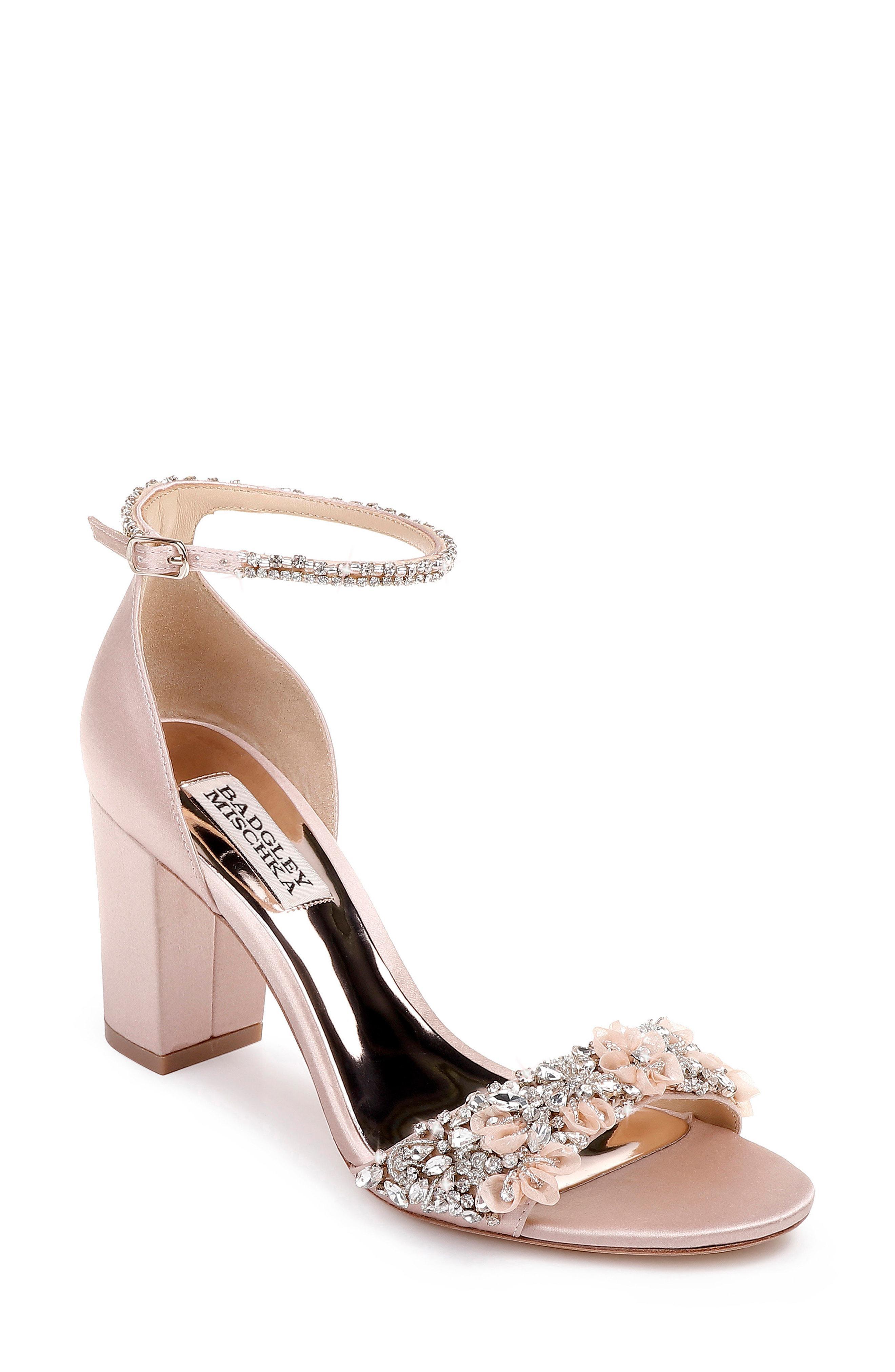 0d1c1b87cf8b Lyst - Badgley Mischka Badgley Mischka Finesse Ankle Strap Sandal