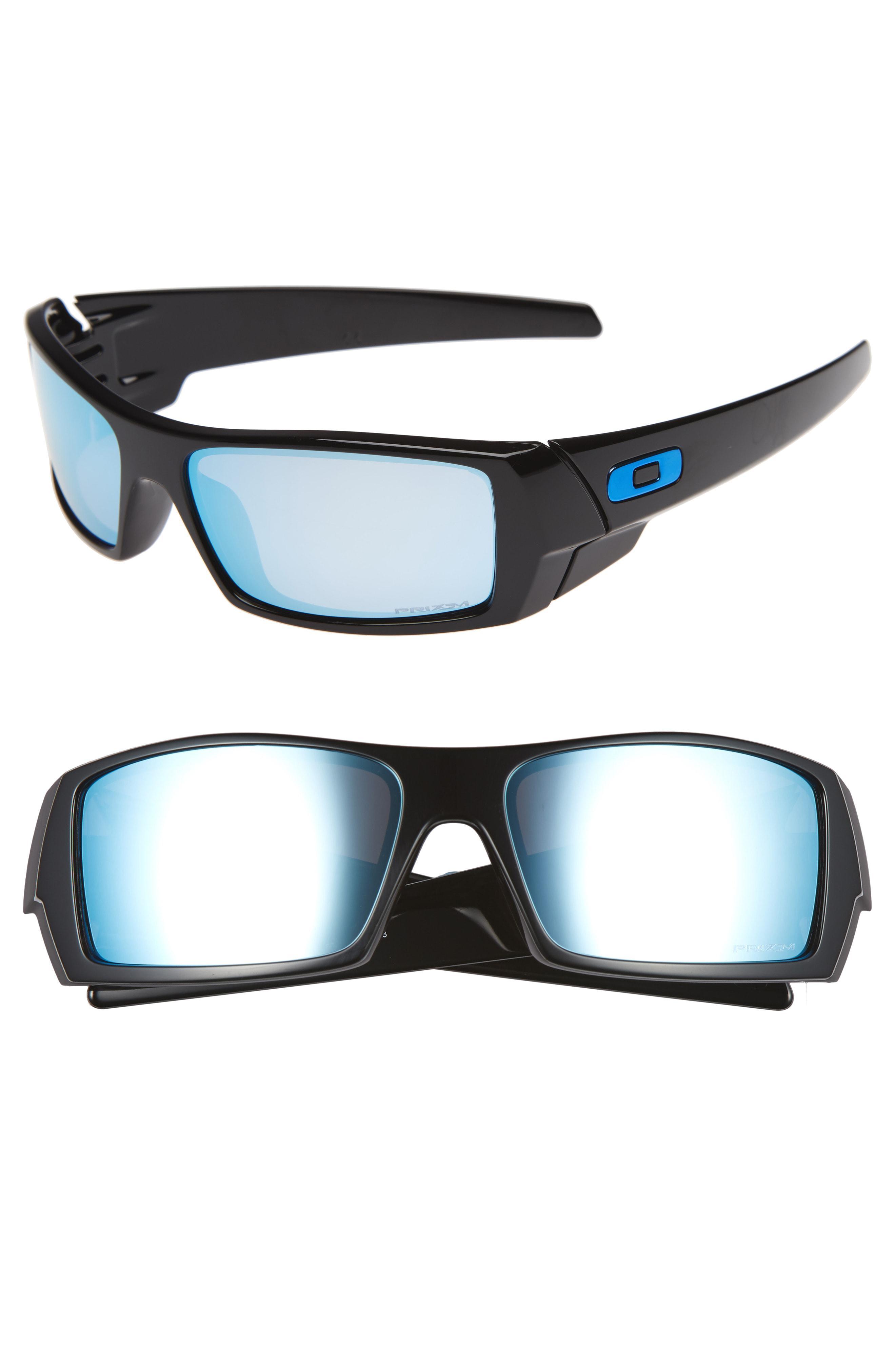 158fb7869e Lyst - Oakley Gascan Prizm 60mm Polarized Sunglasses - in Blue for Men