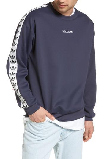 Adidas Originals Blue Tnt Trefoil Sweatshirt for men