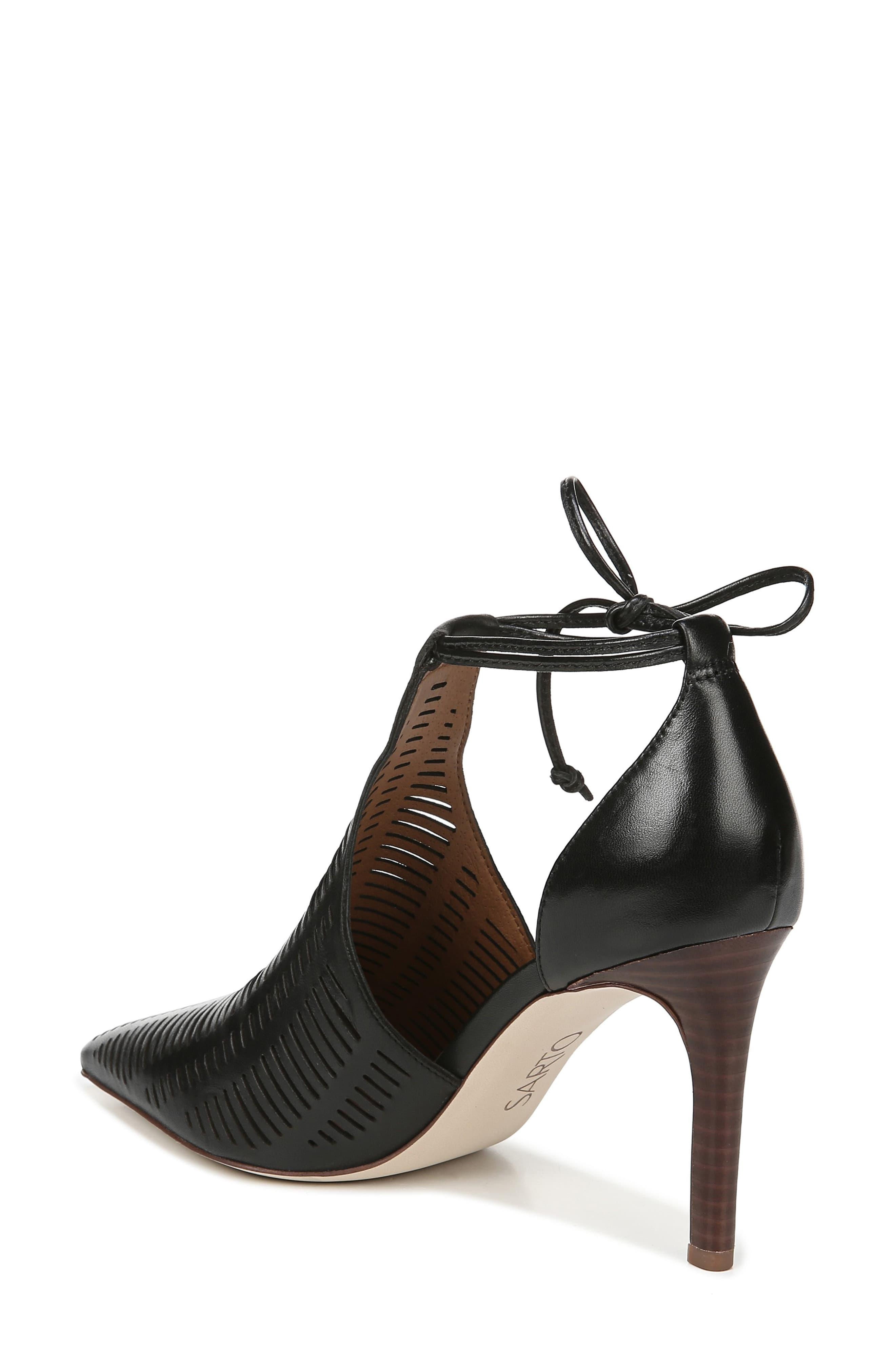 Sarto Leather Krista Perforated Ankle