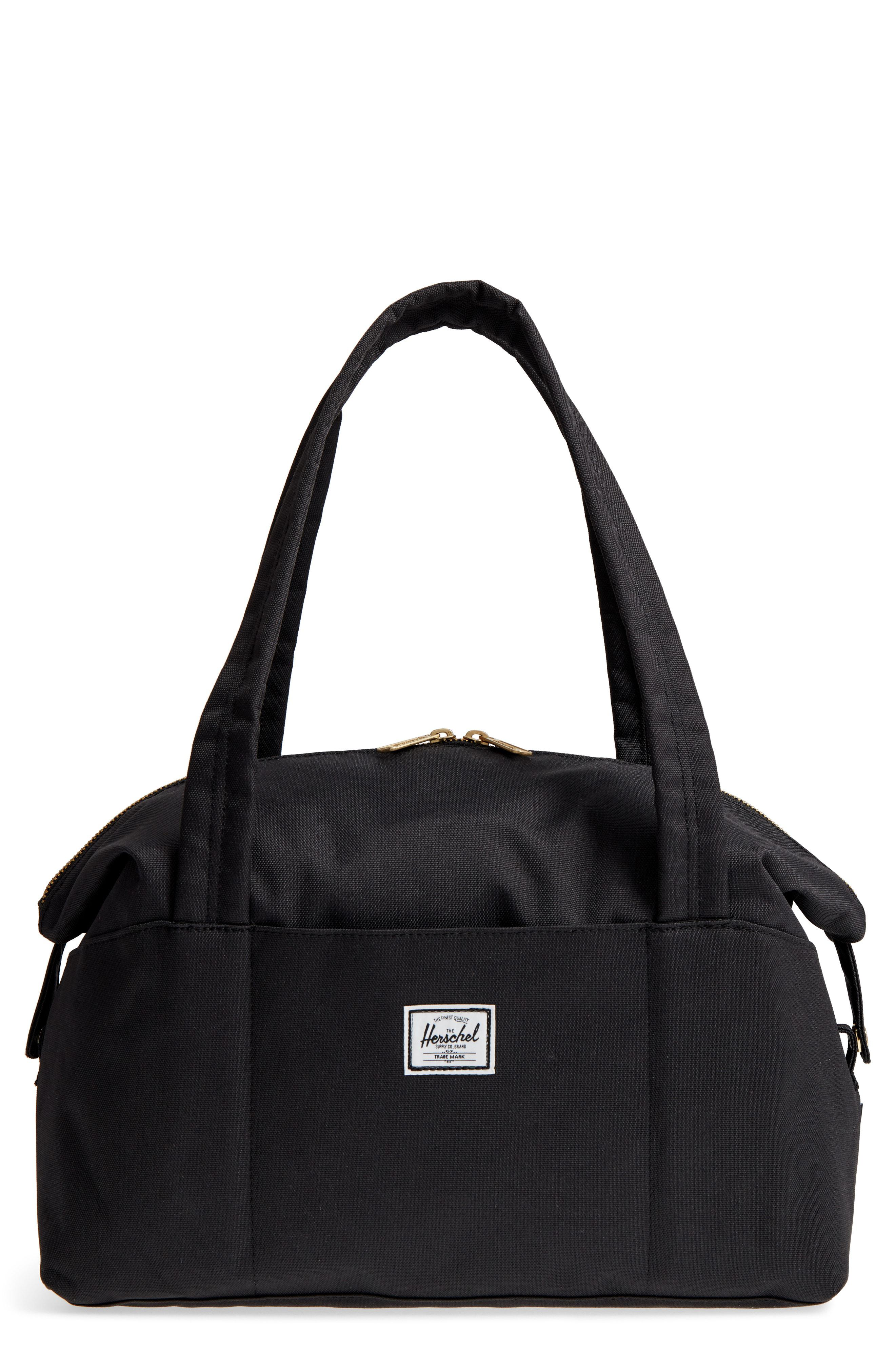 4ed193d69b7d Lyst - Herschel Supply Co. Extra Small Strand Duffel Bag - in Black ...