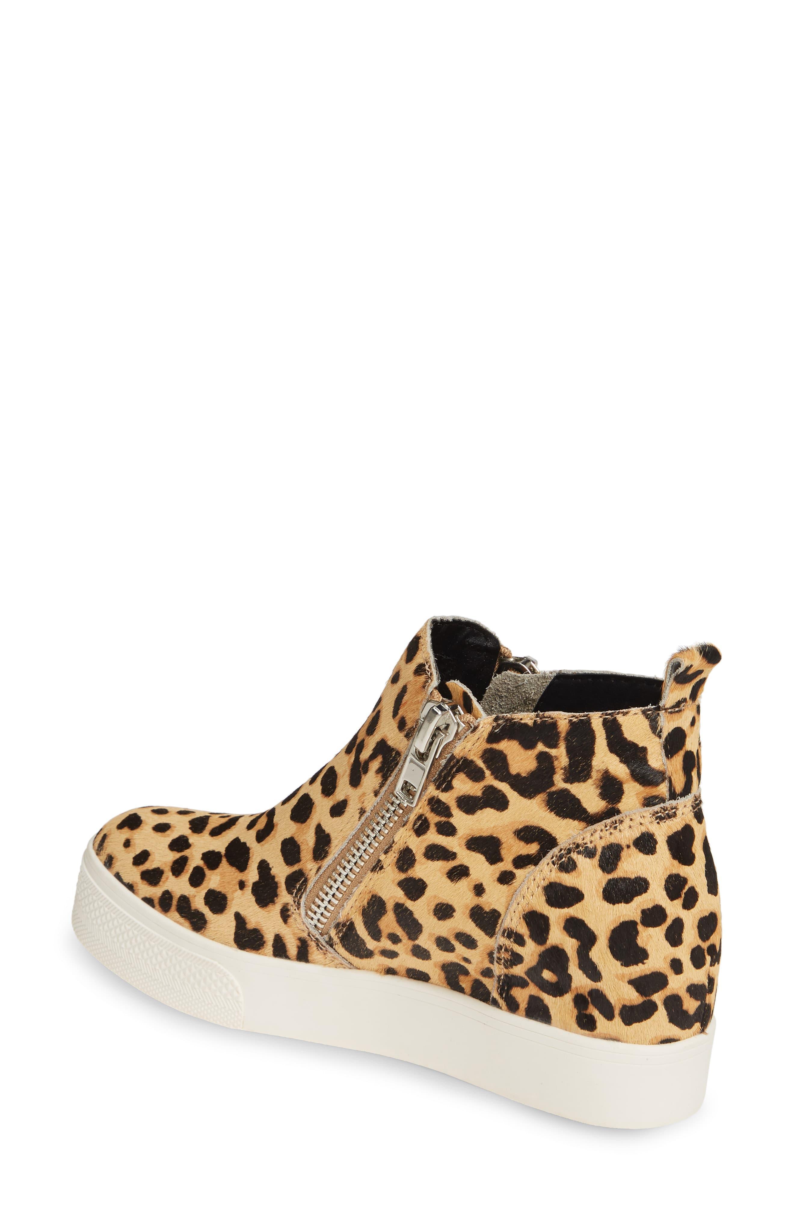 101e5342568 Women's Brown Wedgie High Top Platform Sneaker