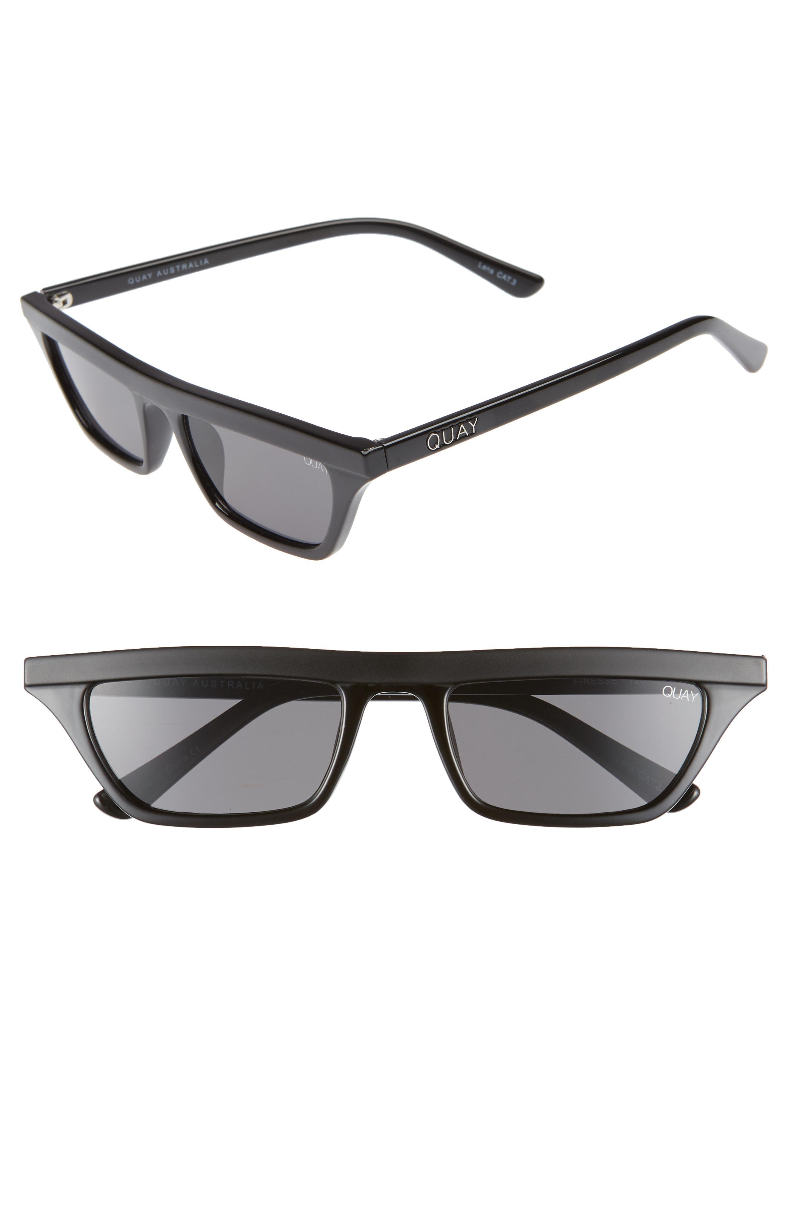 640ddedf5904b Quay Finesse 52mm Sunglasses - in Gray - Lyst