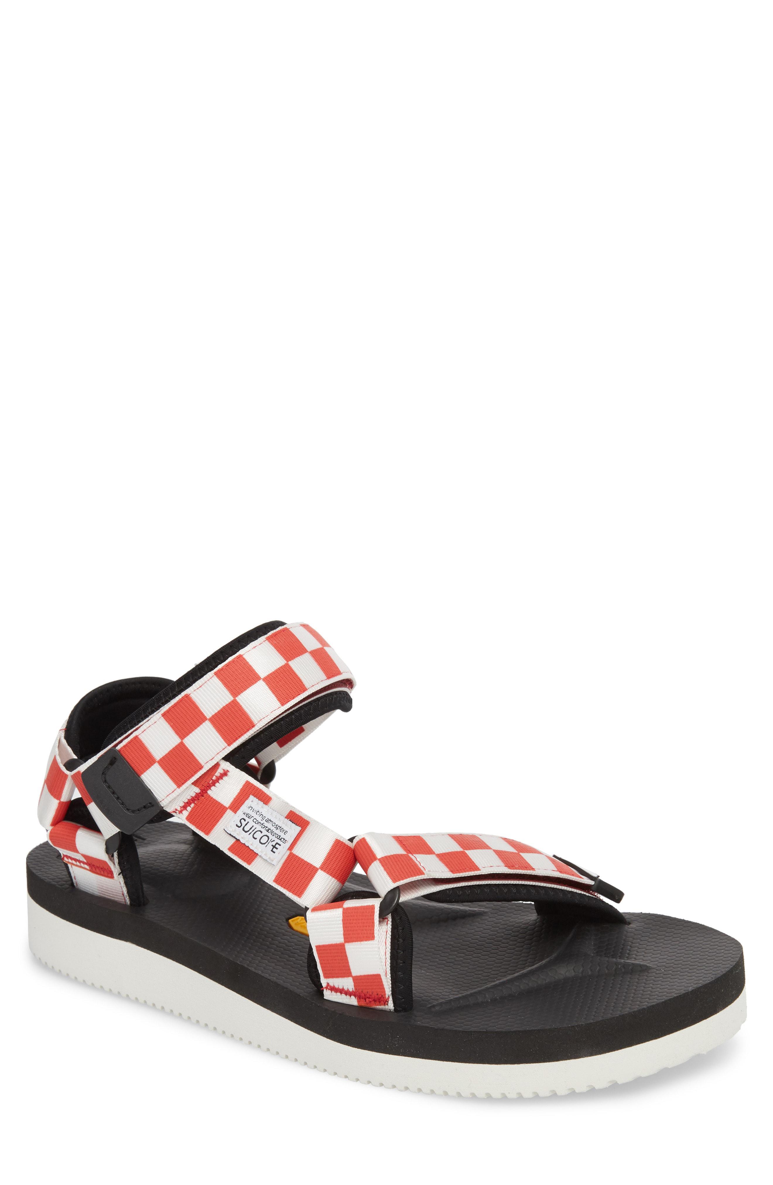 4f41695bb02a Lyst - Suicoke Depa Sport Sandal in Red for Men