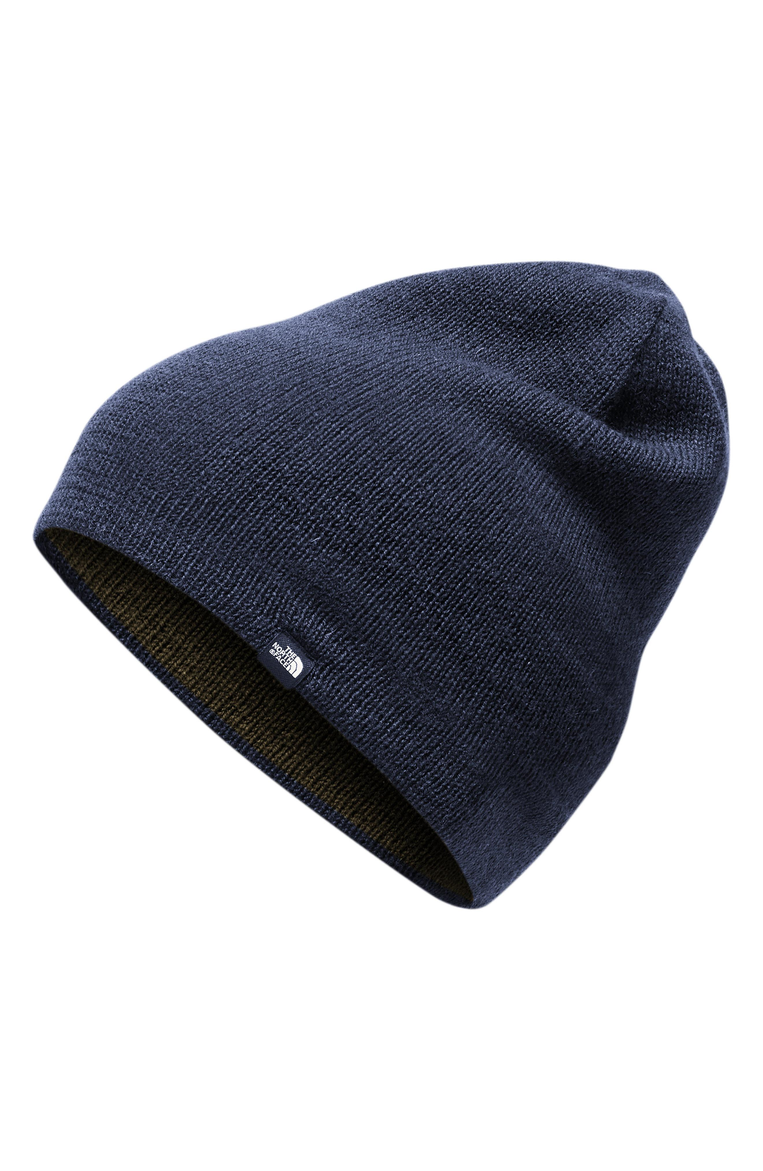 1760a36ffa6 Lyst - The North Face Reversible Merino Wool Beanie in Blue for Men