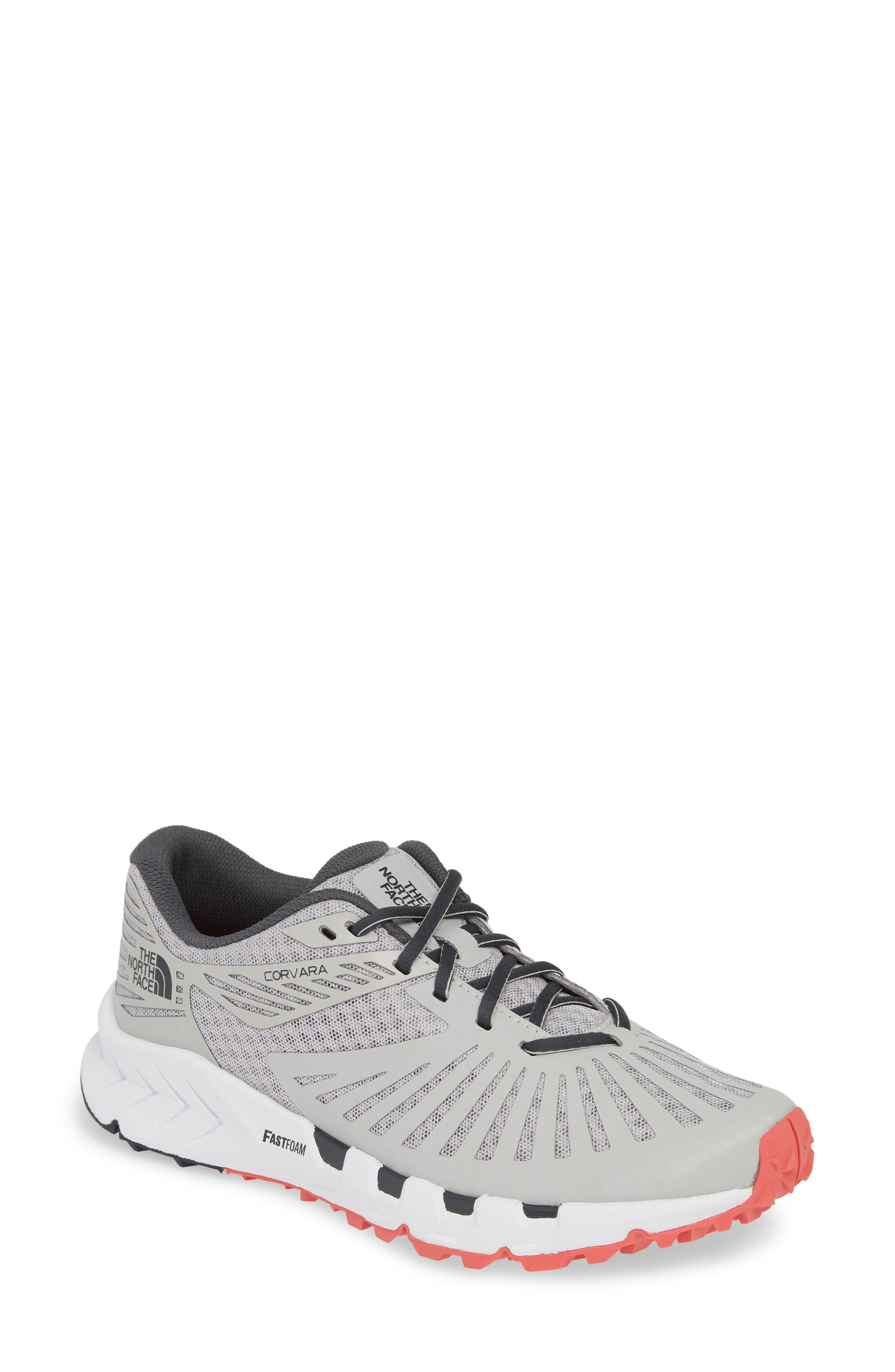 87a2cd4f3 Lyst - The North Face Corvara Trail Running Sneaker in Gray