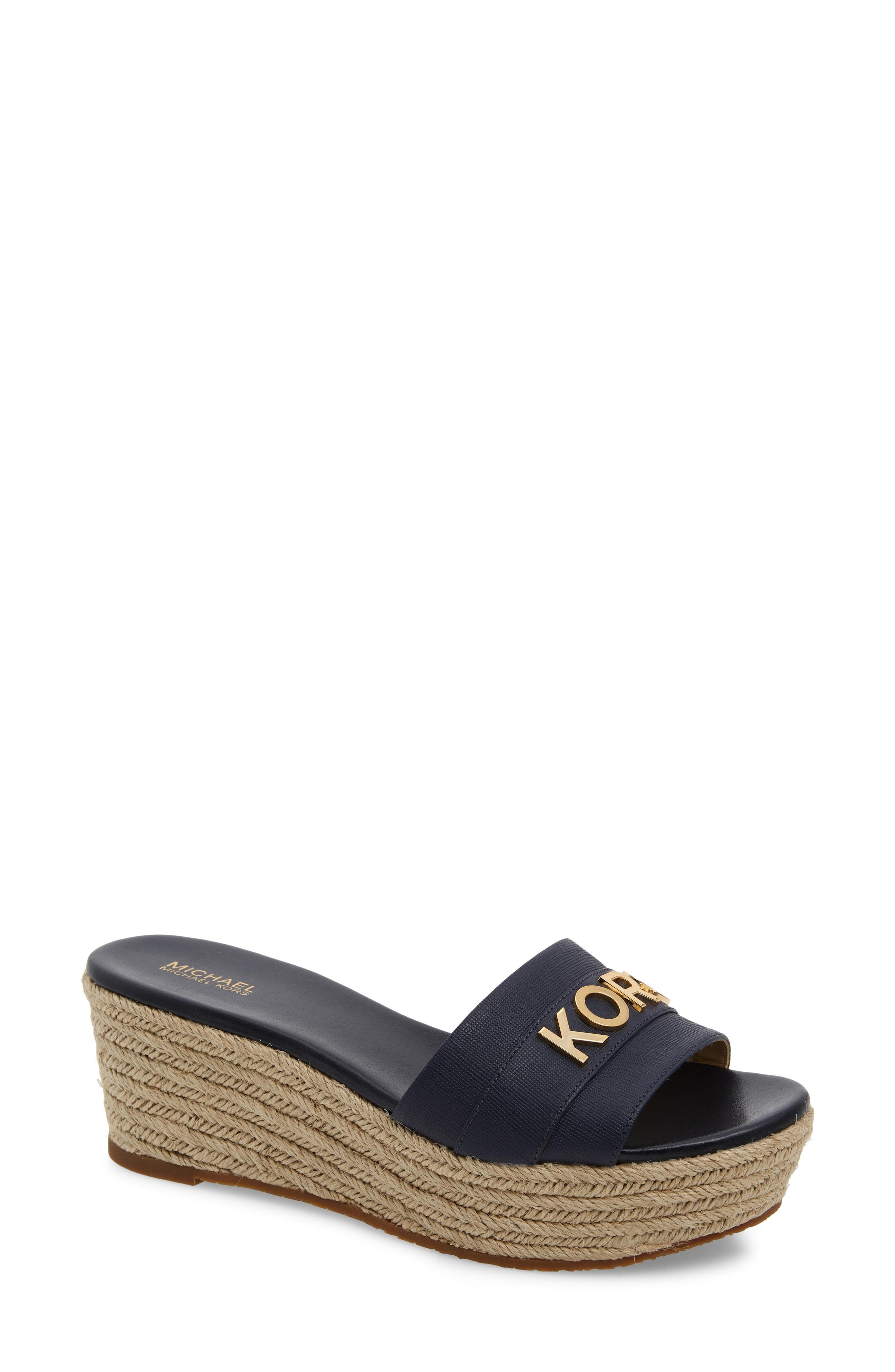 32b0ab916c56 MICHAEL Michael Kors. Women s Brady Platform Slide Sandal