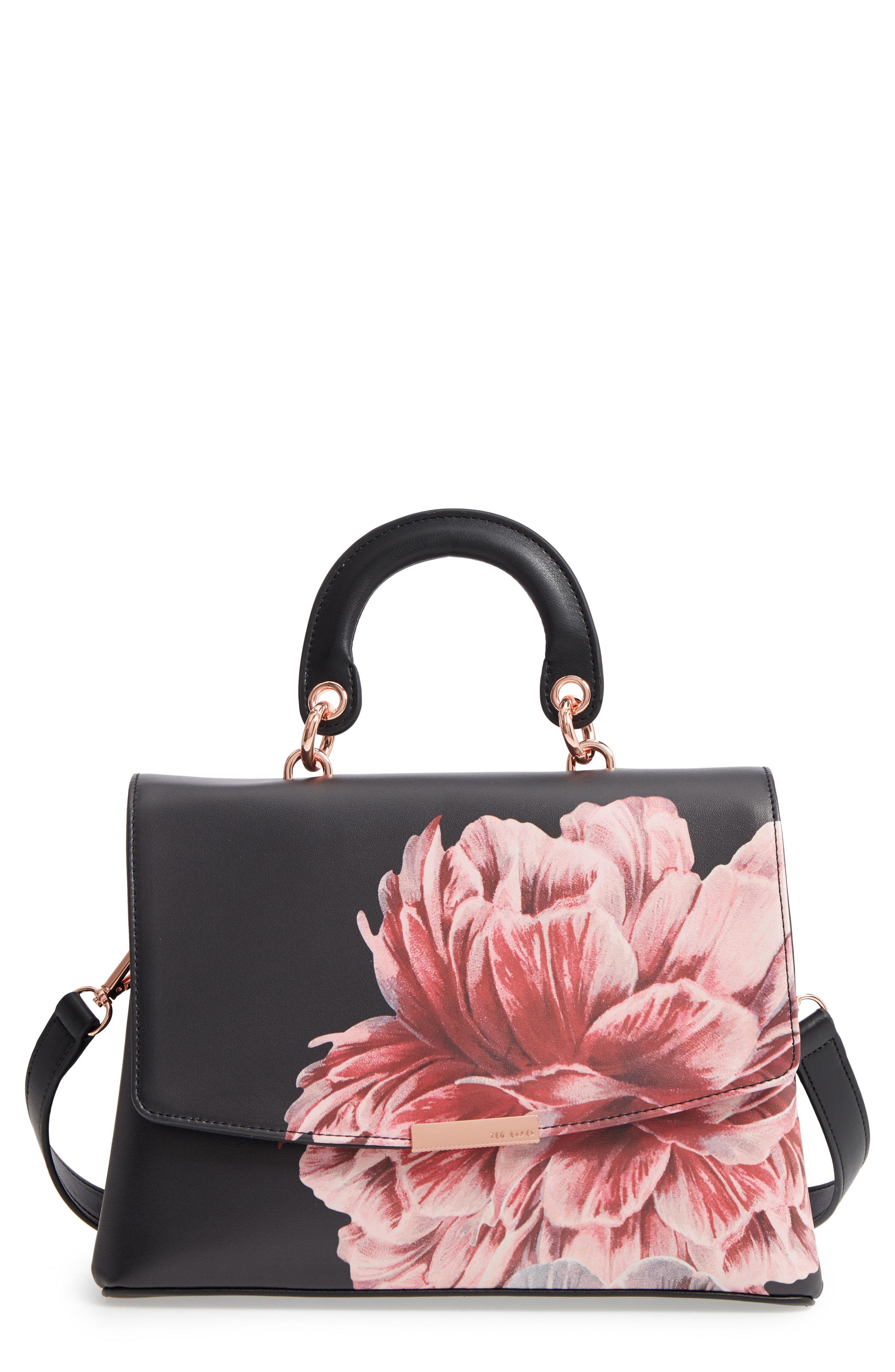891c04604a Ted Baker Tranquility Lady Bag Top Handle Satchel - - Lyst