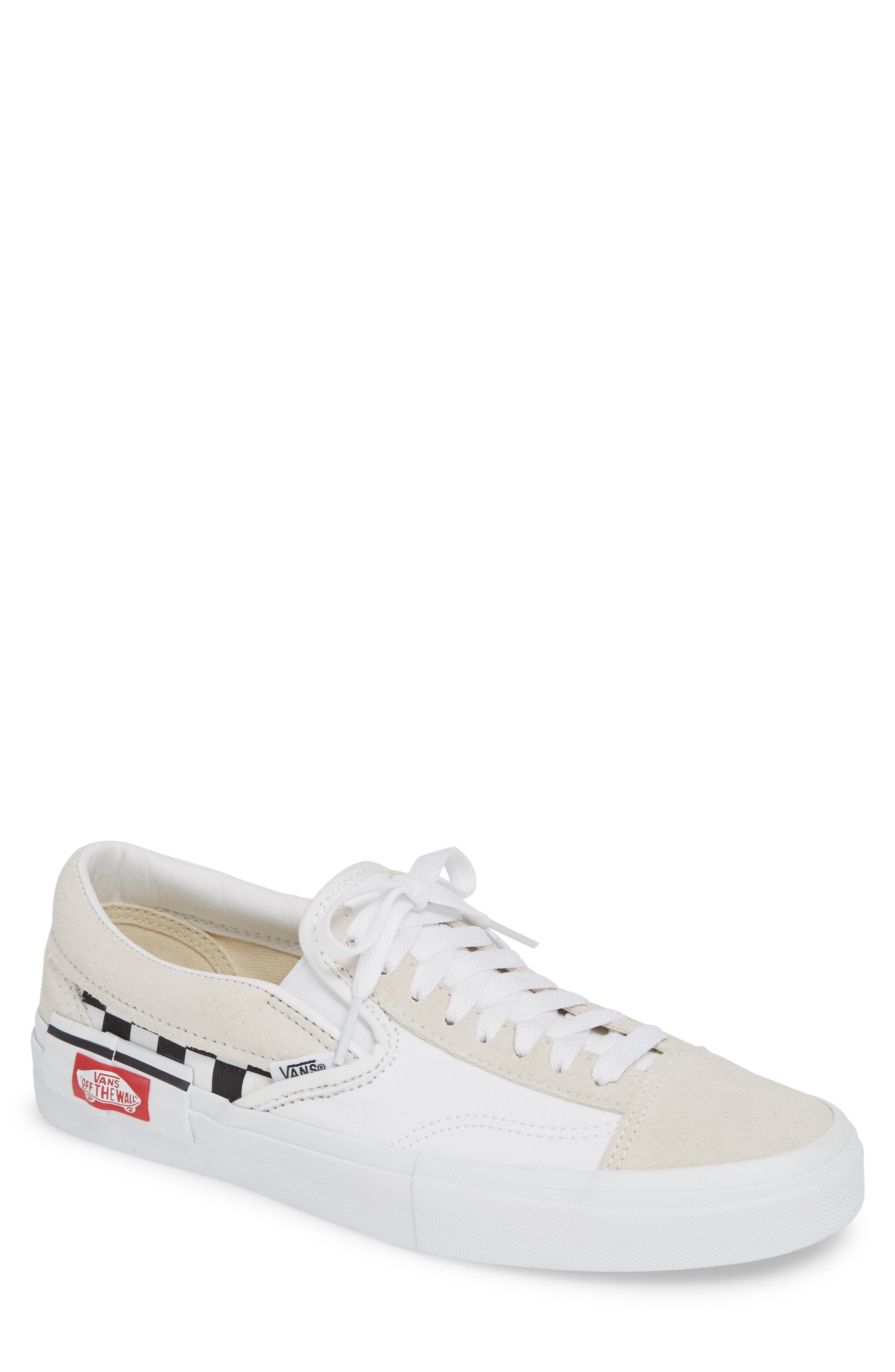ec64929a3a16 Lyst - Vans Cap Sneaker in White for Men