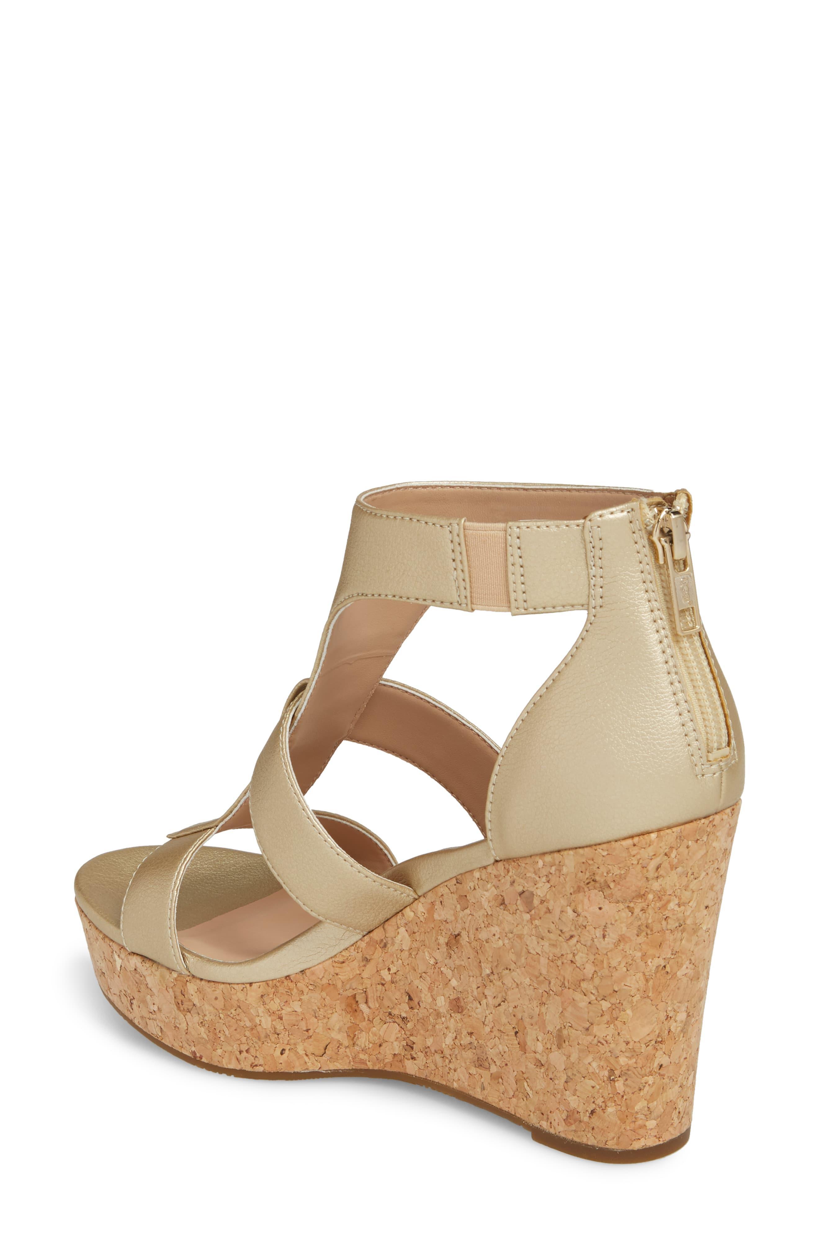dd6beaf71e5 Women's Metallic Ugg Whitney Platform Wedge Sandal