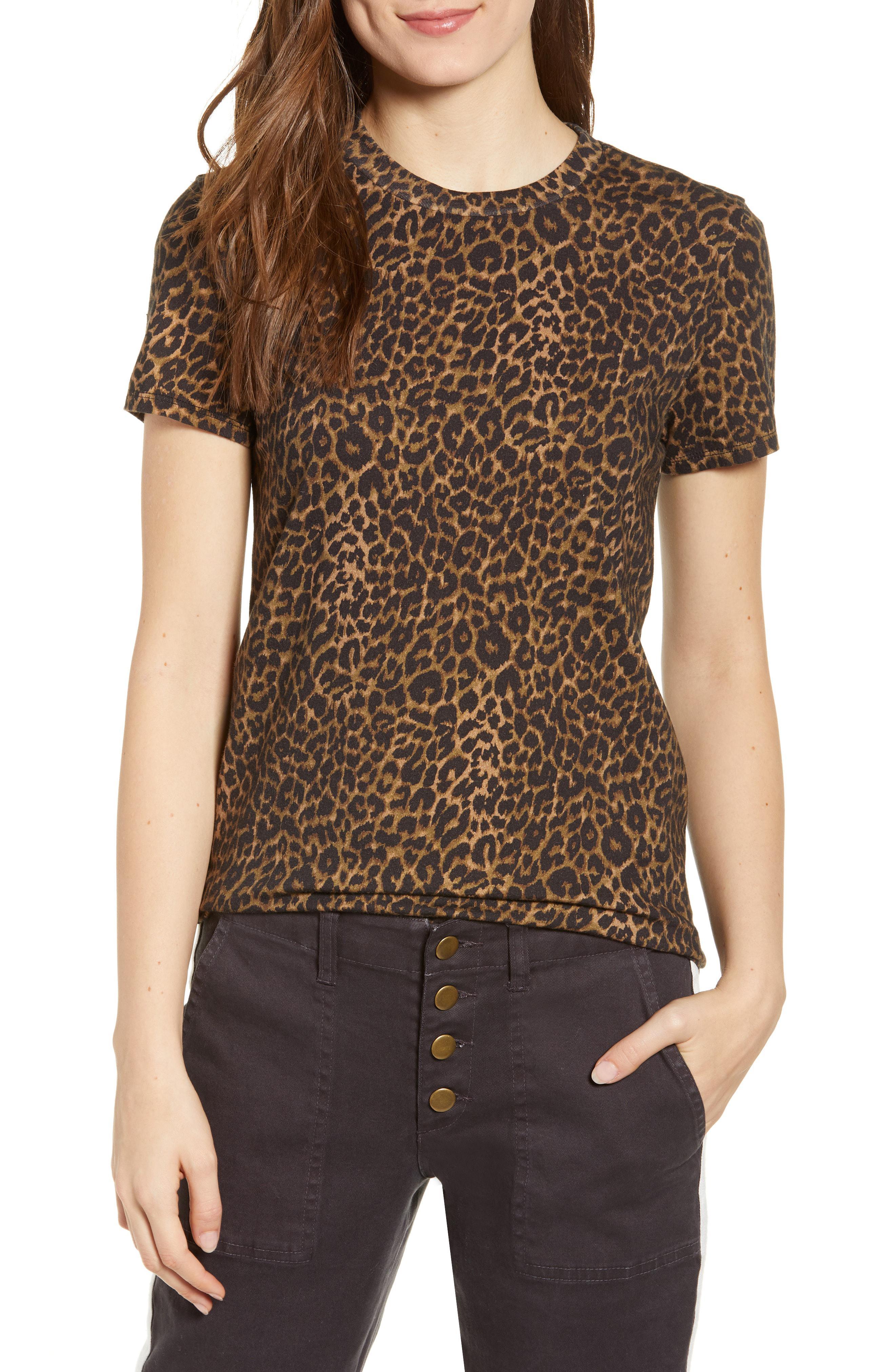Pam   Gela. Women s Leopard Print Tee 00d99241b