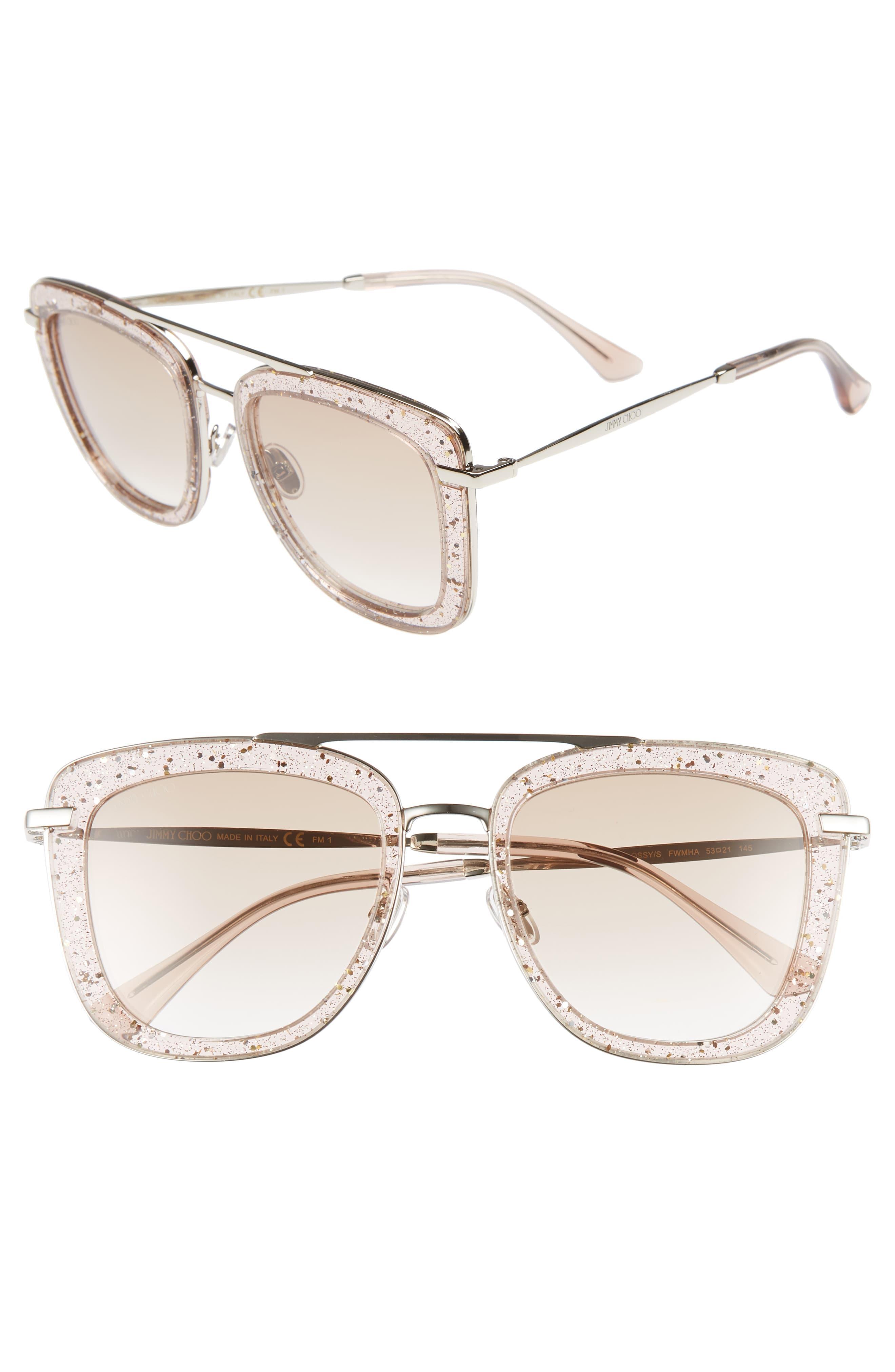 Garage Luxe - Square Nude Sunglasses