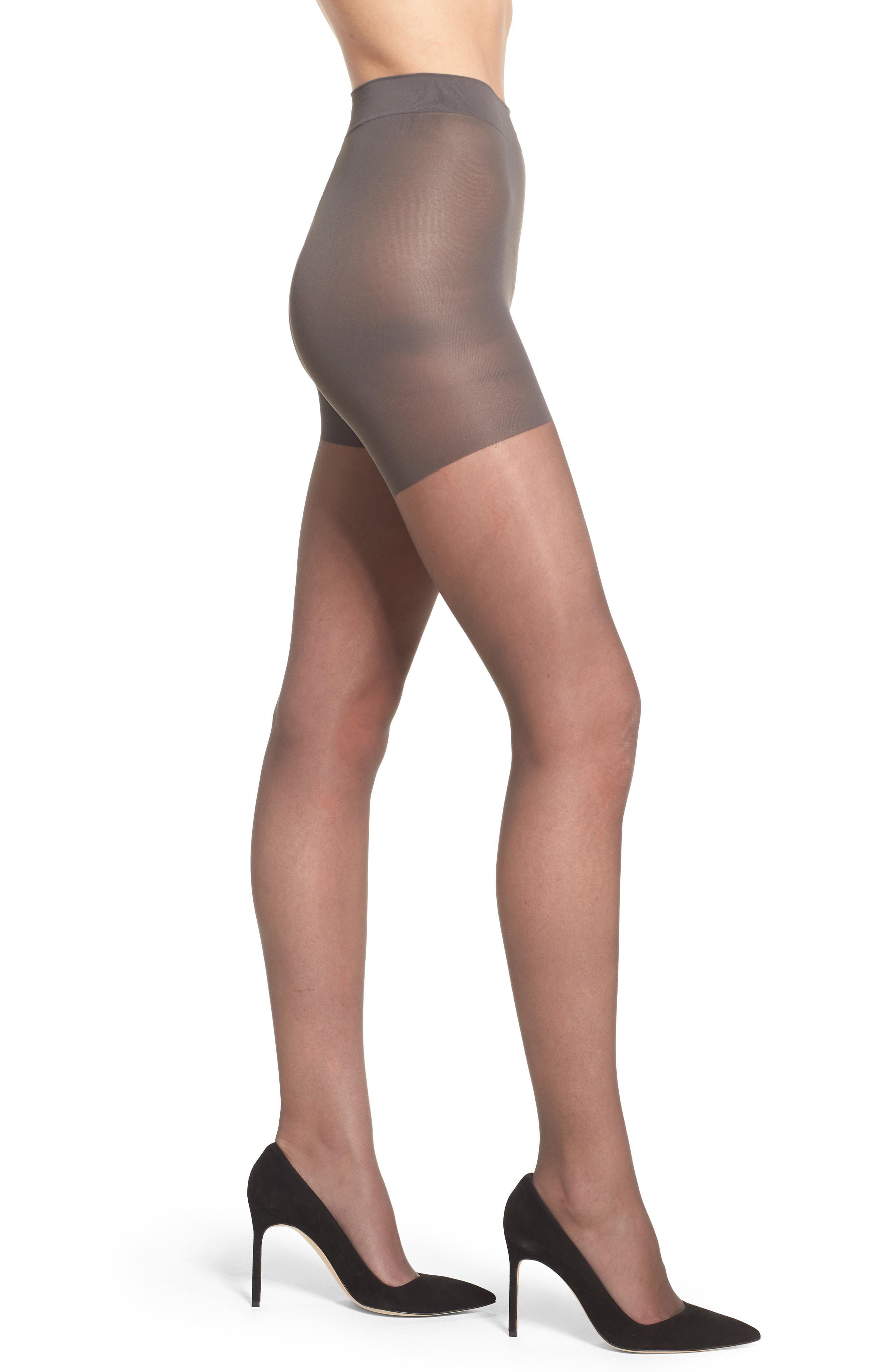 04117619d Lyst - Nordstrom Sheer Control Top Pantyhose