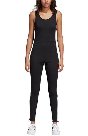 2e86d48be44 adidas Adibreak Jumpsuit in Black - Lyst