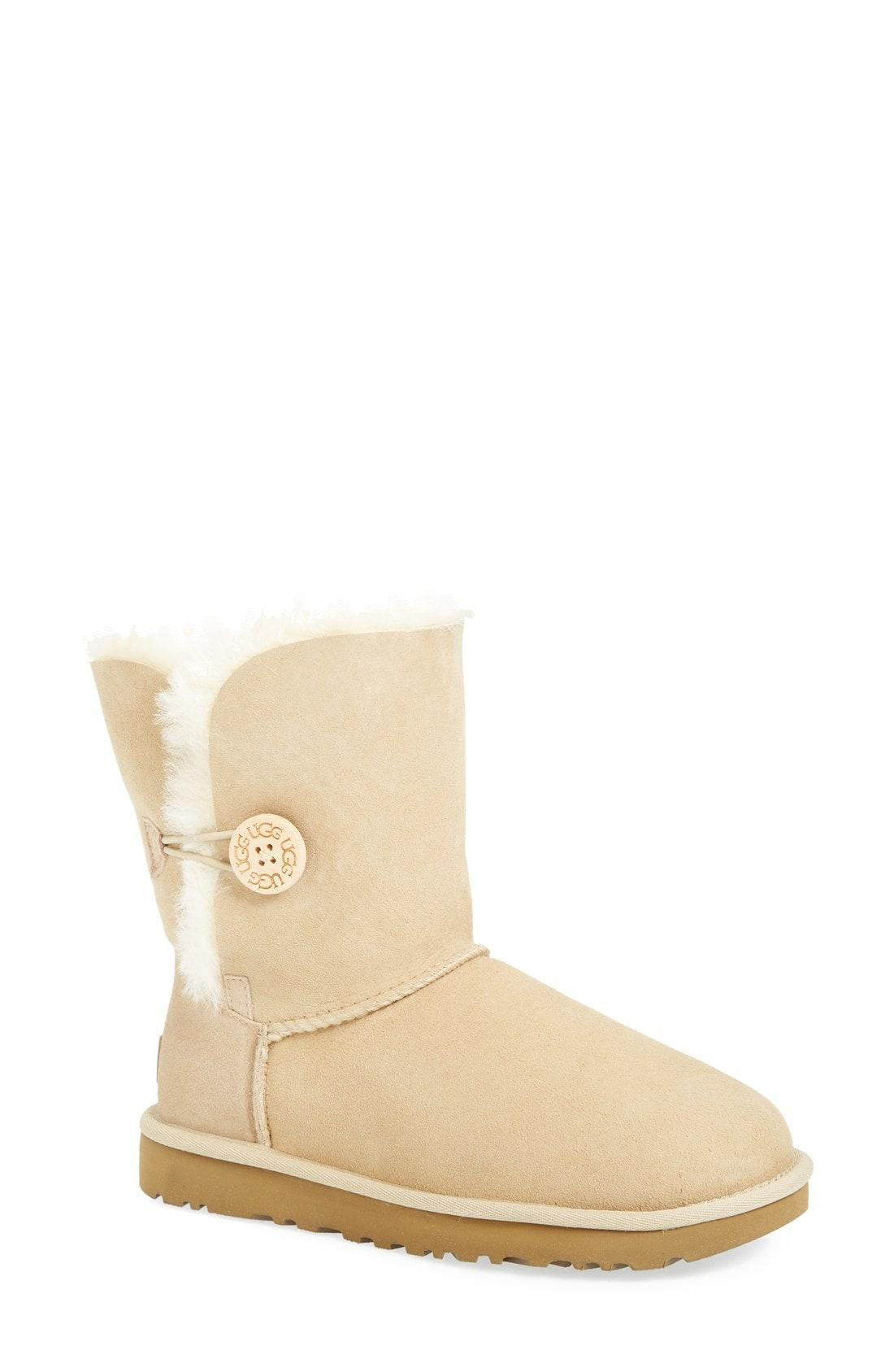 b6de4d6c074 Lyst - UGG Ugg Bailey Button Ii Boot in Natural