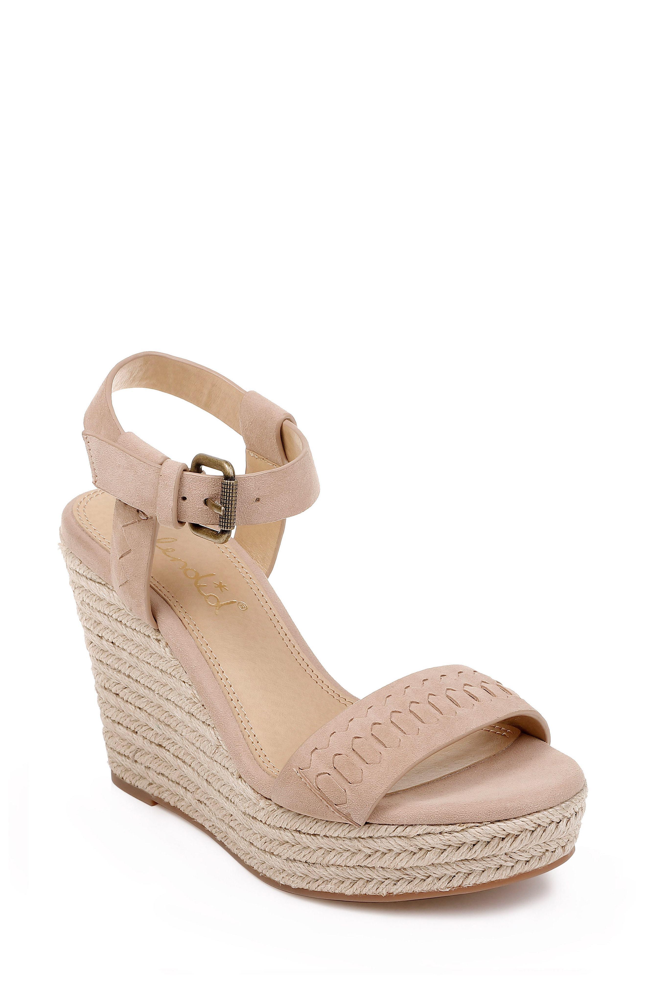c7d472ea276 Splendid. Women s Shayla Woven Wedge Sandal