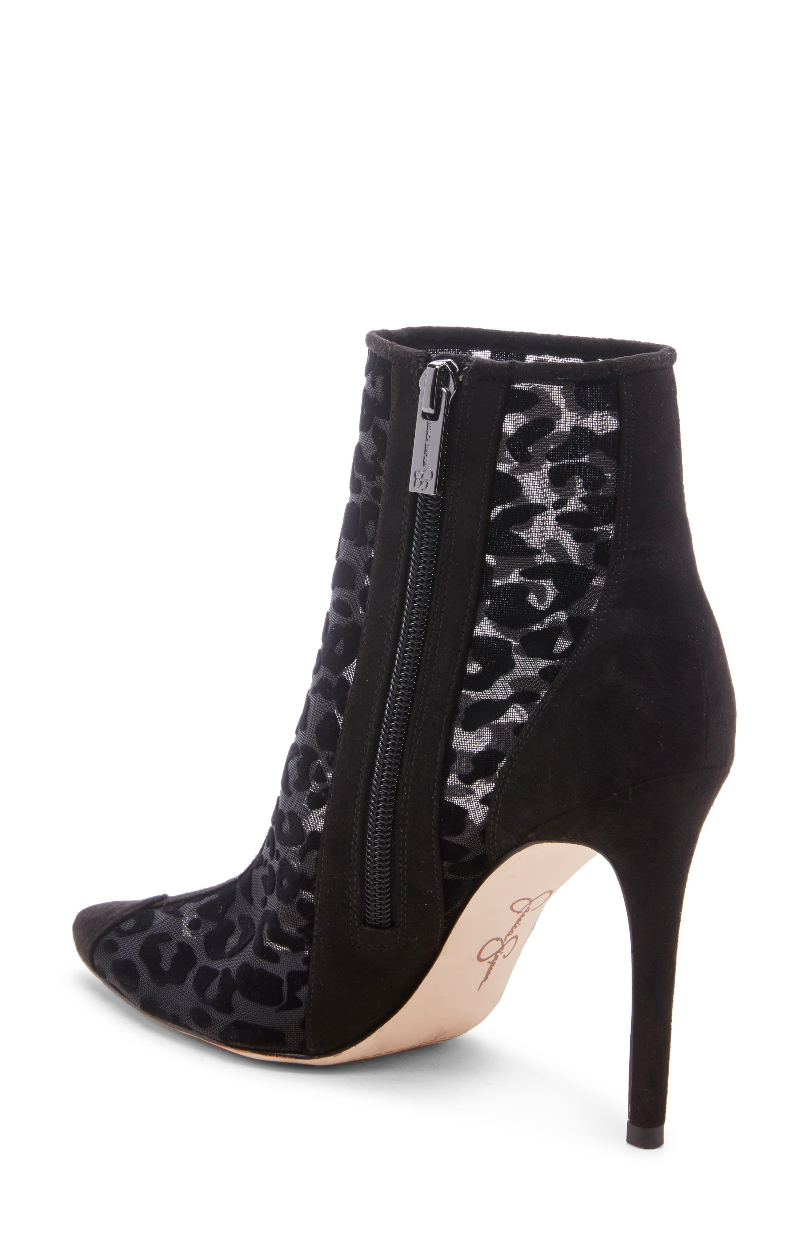 Jessica Simpson Leather Prestin Pointed