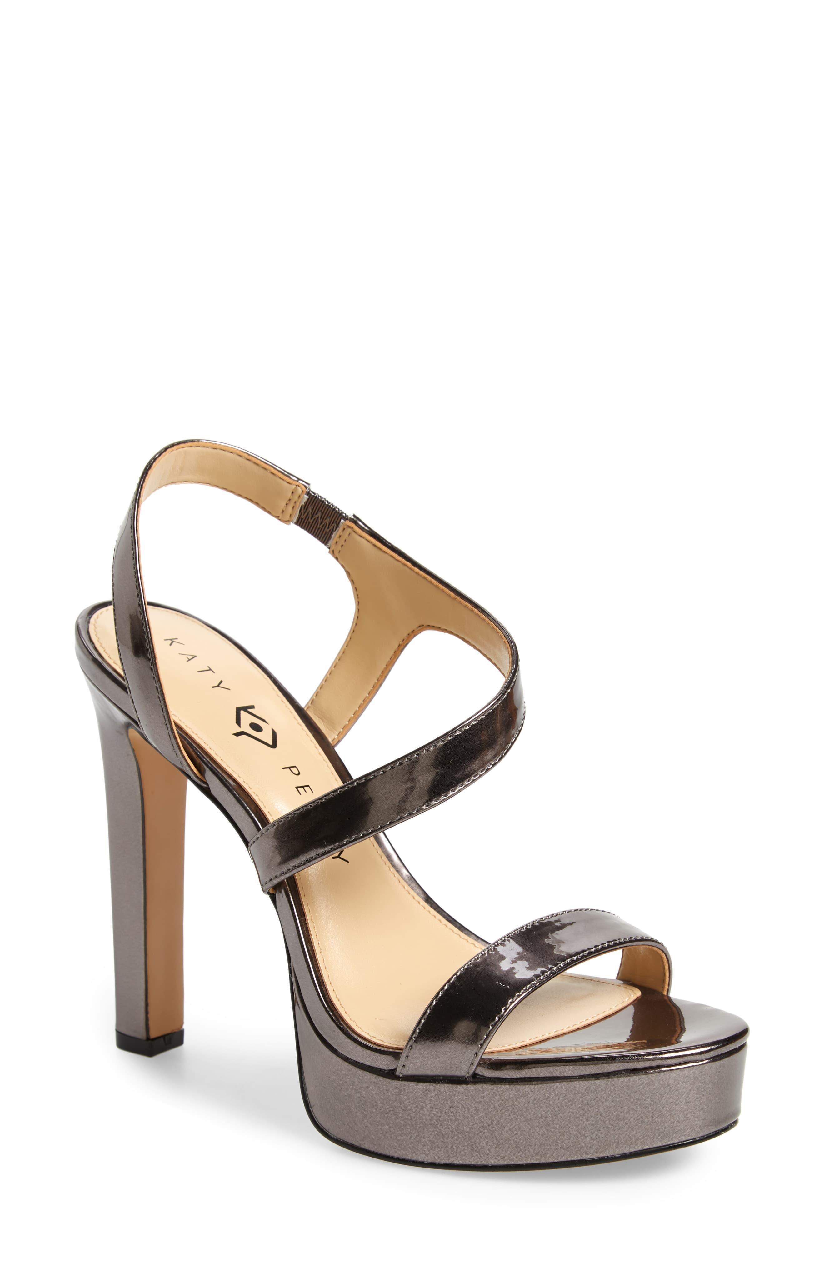 2c6d515a129 Women's Naomi Metallic Platform Sandal