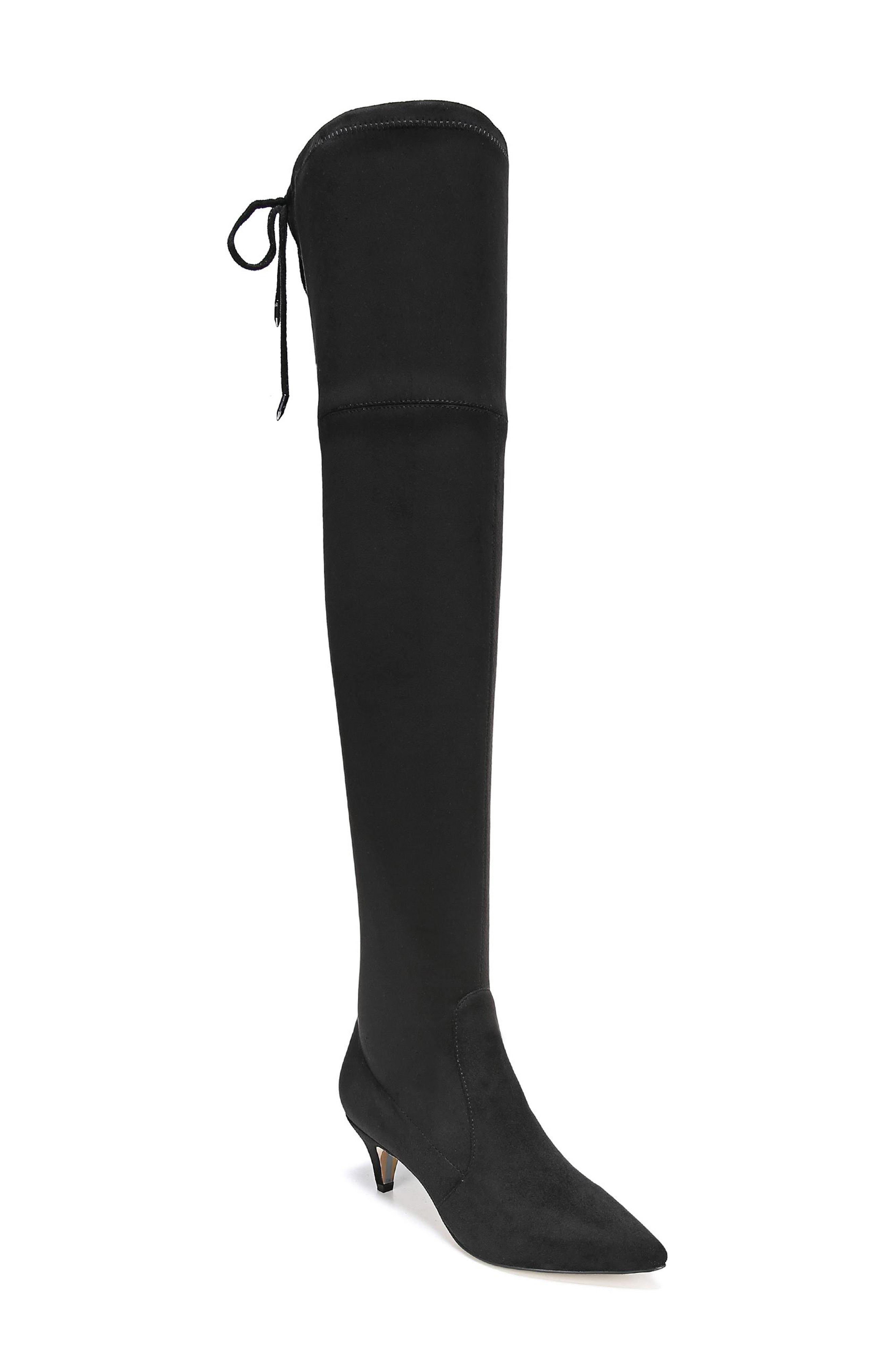 06c3d4be7d9 Lyst - Sam Edelman Kristie Over The Knee Boot in Black