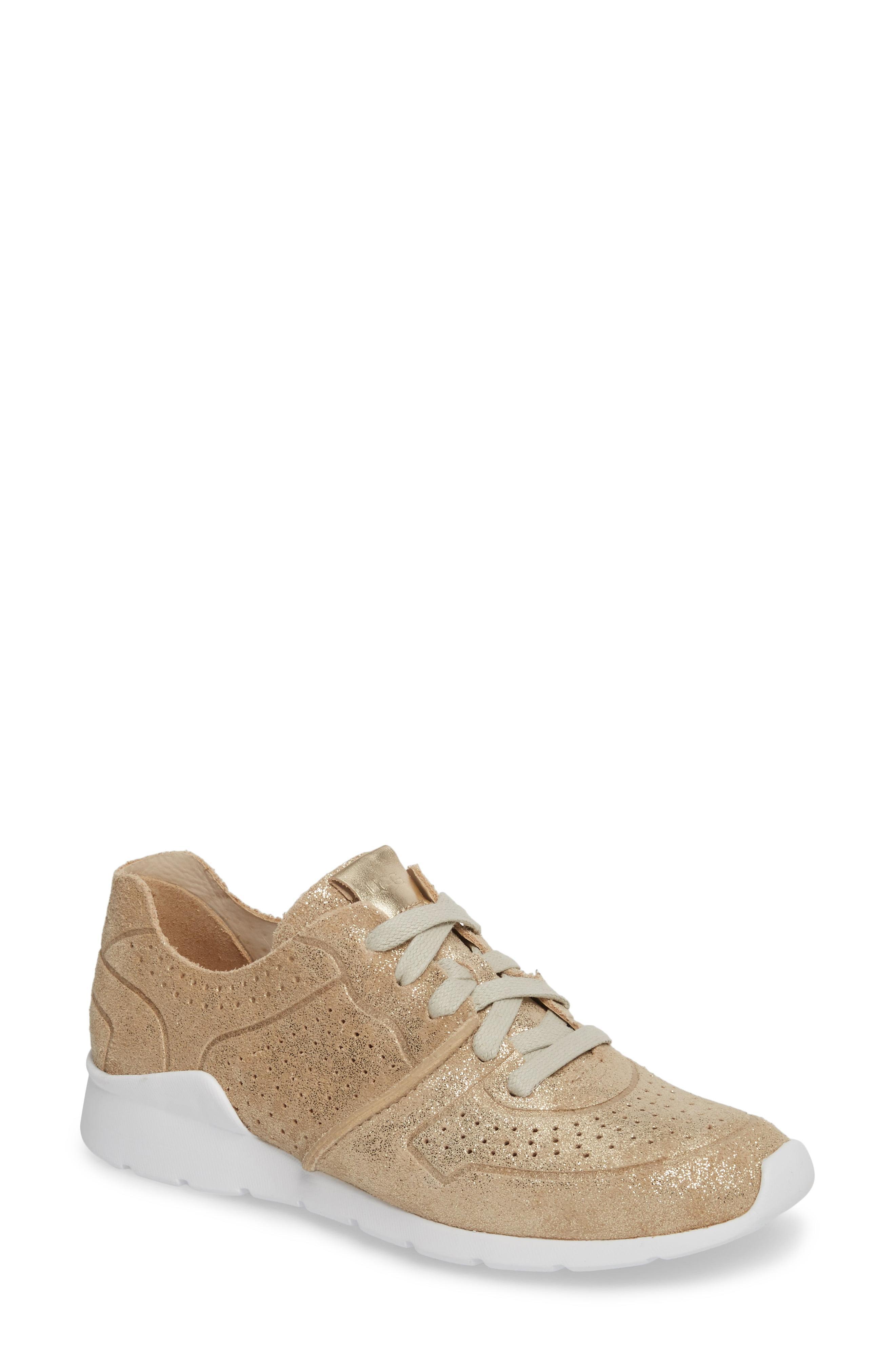 UGG Leather (r) Tye Stardust Sneaker - Lyst