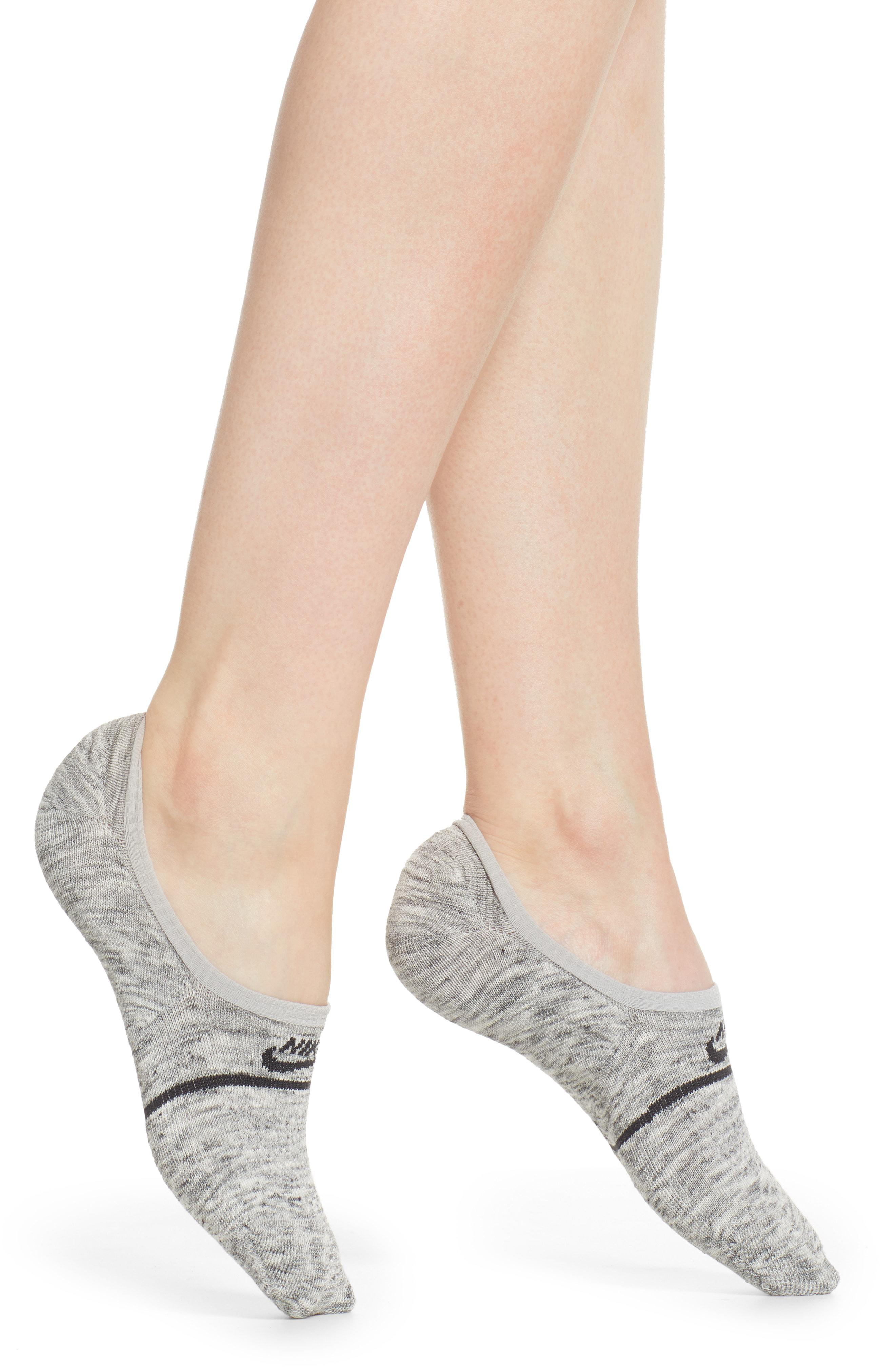 6502fdd62d91c Nike Gray 2-pack Snkr Sox Essential No Show Socks, Grey