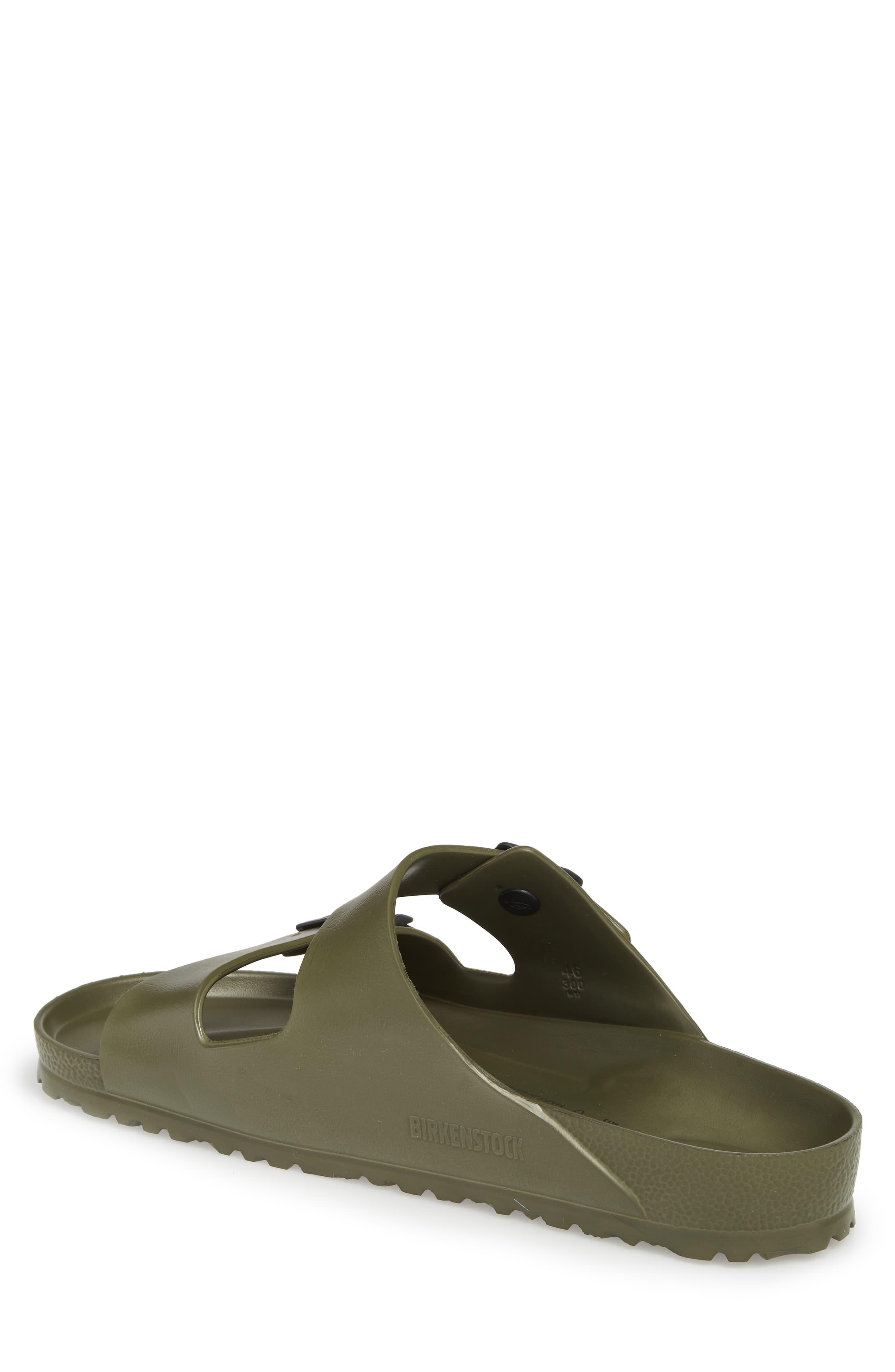 011b70713286b5 Birkenstock Essentials Arizona Eva Waterproof Slide Sandal in Green ...